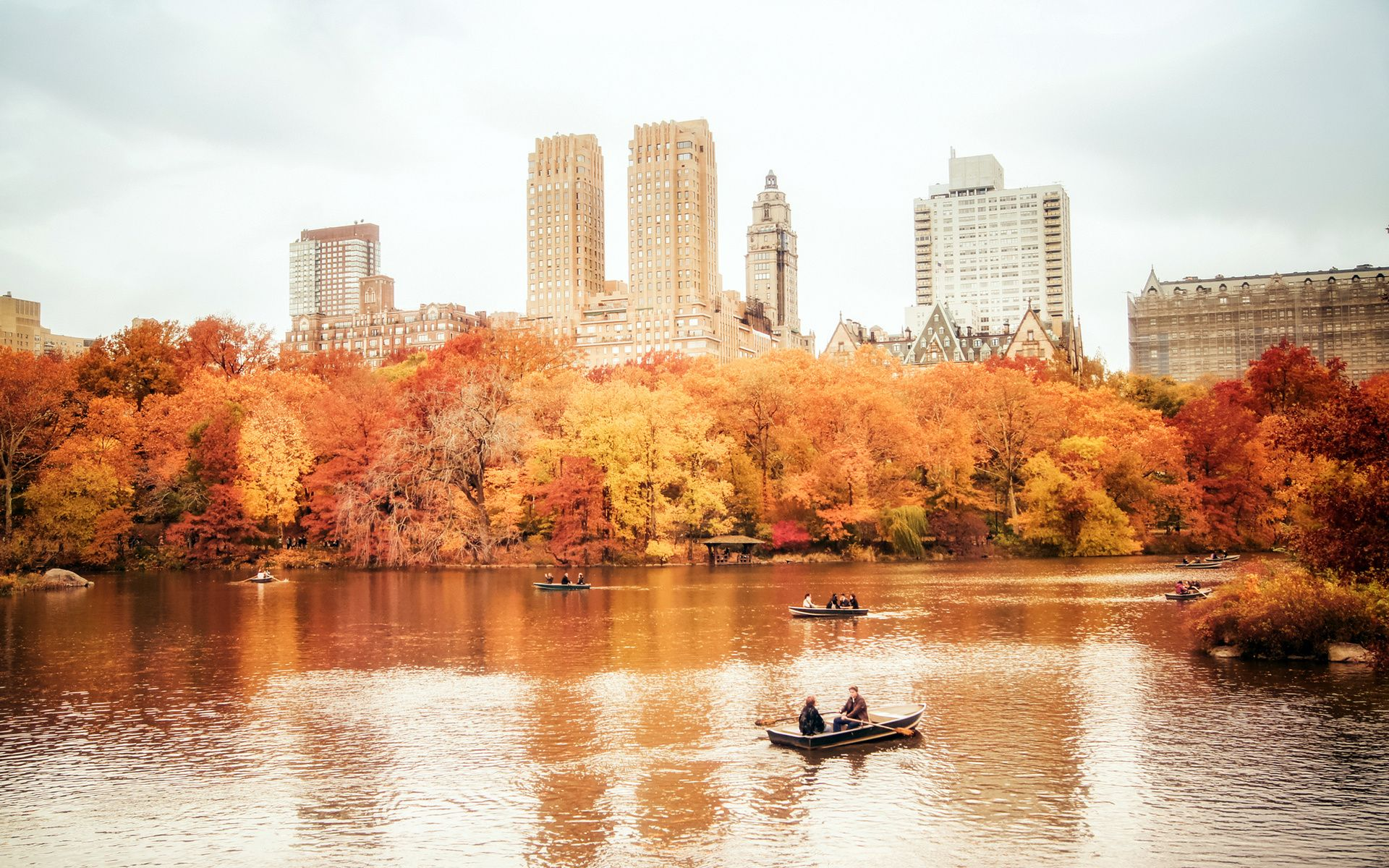 Autumn in NYC Wallpapers