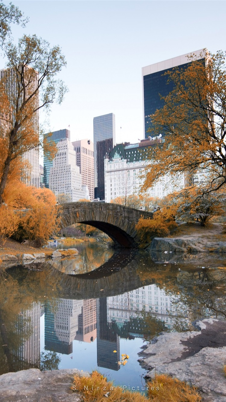 Autumn Central Park New York Wallpapers Free Pictures On Greepx