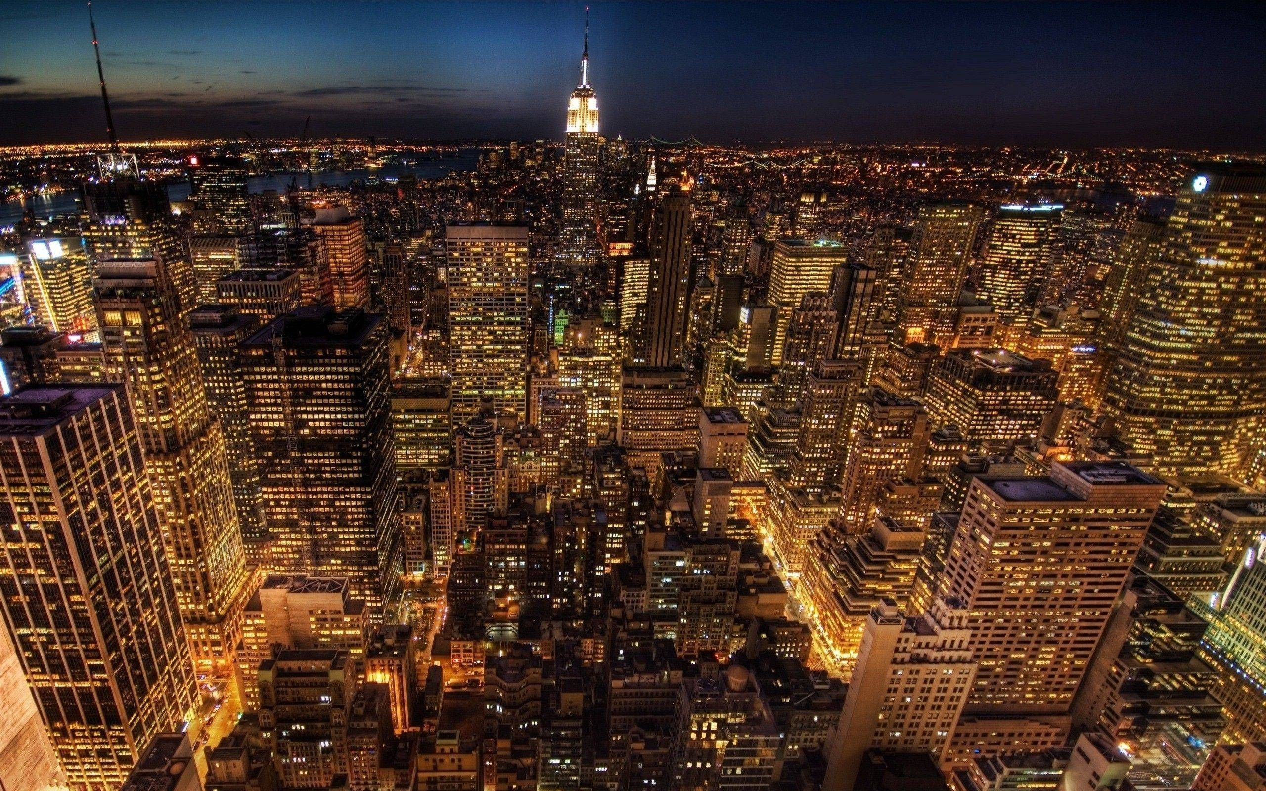 10 Best New York City Night Hd Wallpapers FULL HD 1080p For