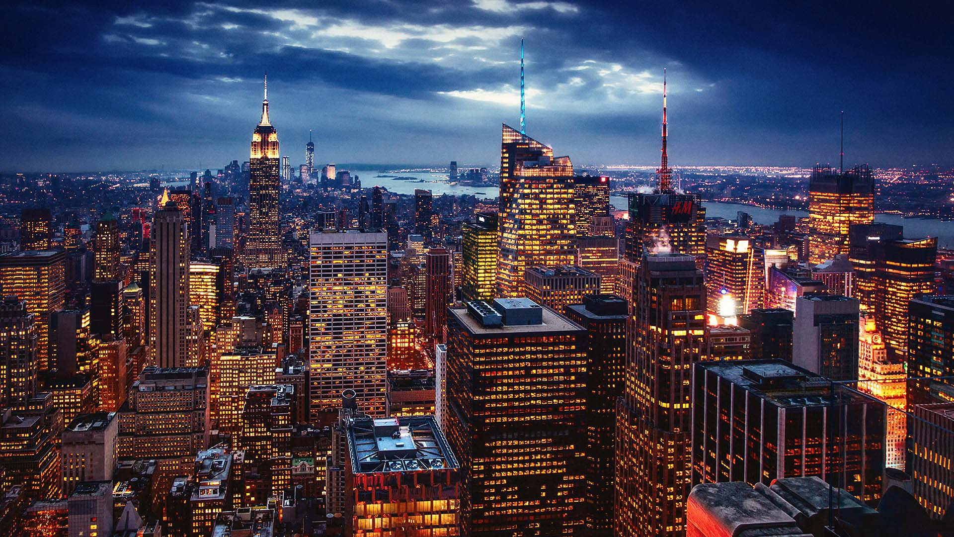 Nyc at night wallpapers Gallery