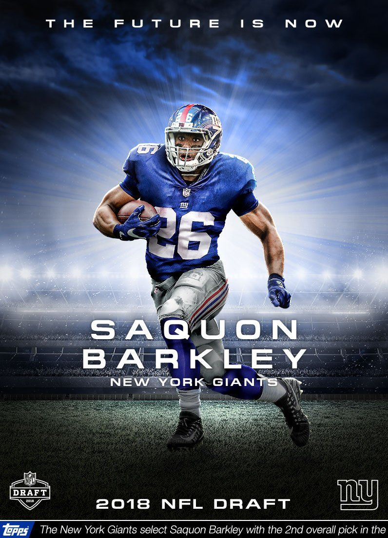 Saquon Barkley New York Giants Wallpapers Free Pictures On Greepx