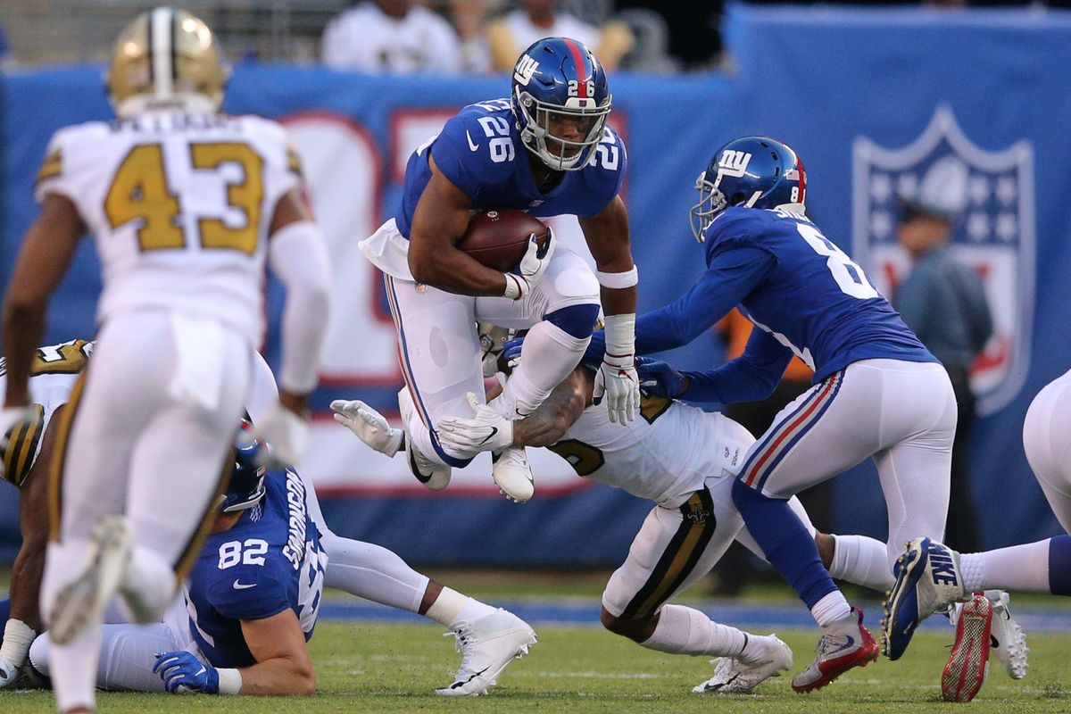 How Saquon Barkley can make the Giants' running game even