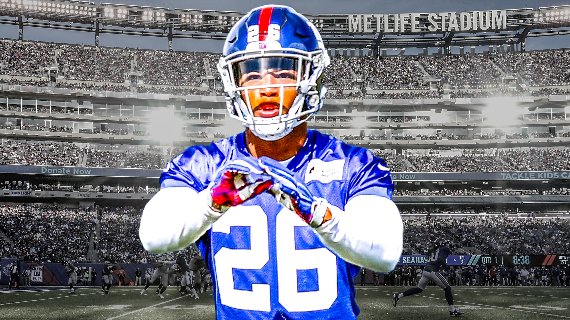 New York Giants RB Saquon Barkley could easily finish 2nd in