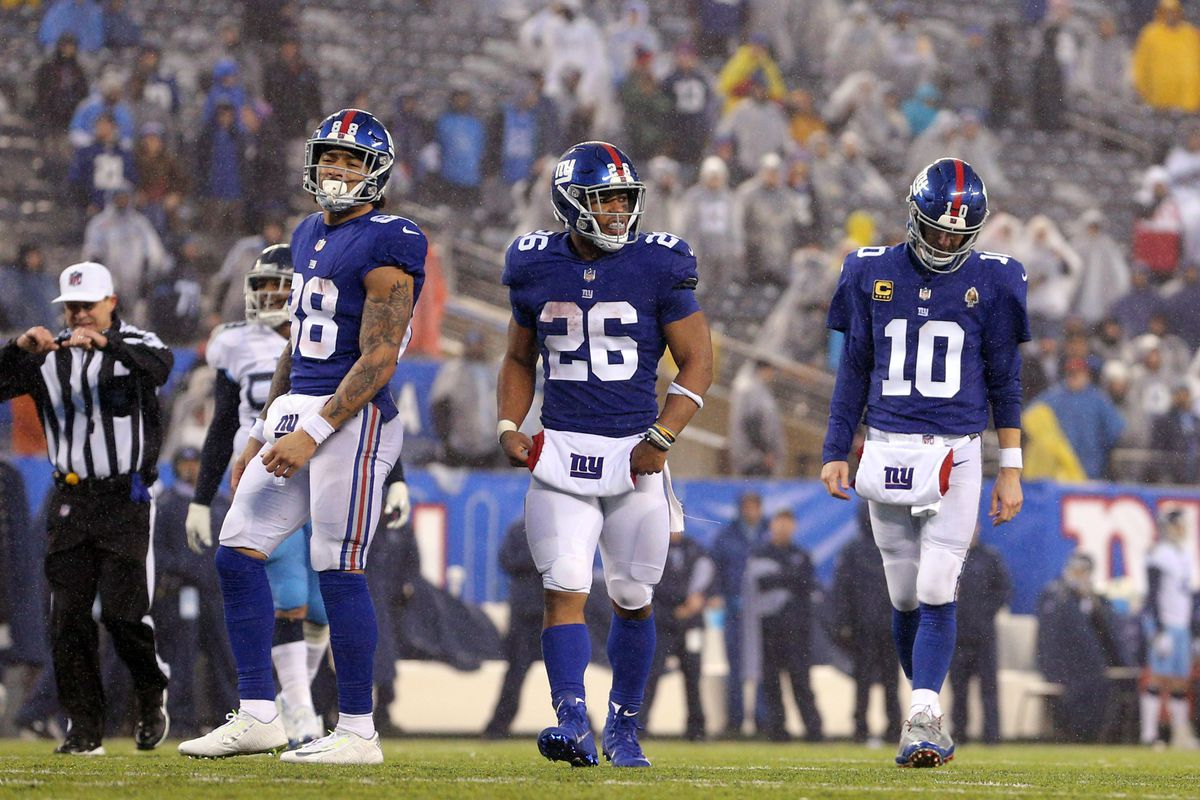 Saquon Barkley needs only one carry to hint at Giant rookie