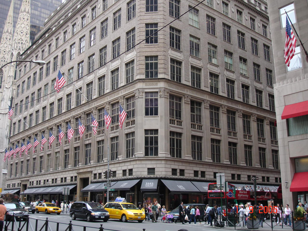 Vuitton Saks 5th Ave Nyc
