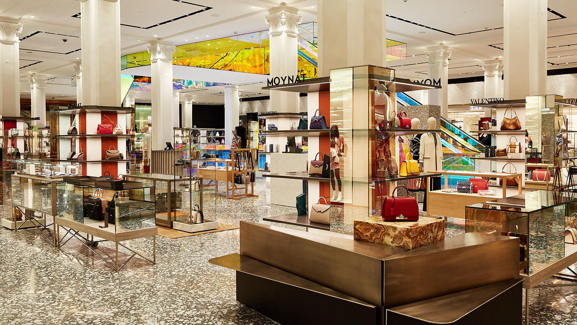 Is minimal maximalism the new luxury? Saks Fifth Avenue and