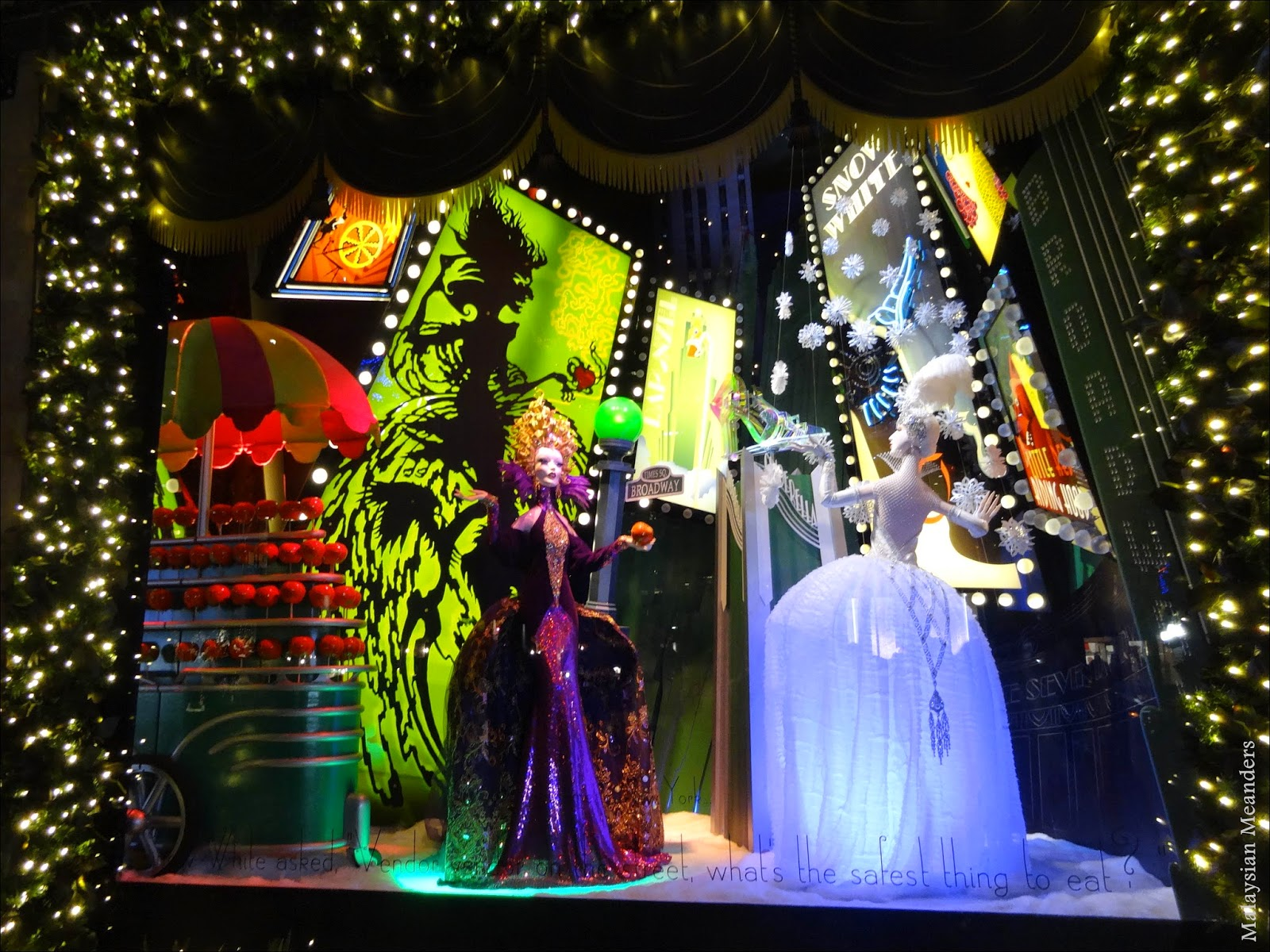 Malaysian Meanders: Saks Fifth Avenue's Enchanting Holiday
