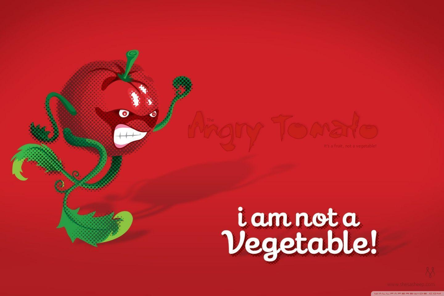 Angry Tomato HD desktop wallpapers : High Definition : Mobile