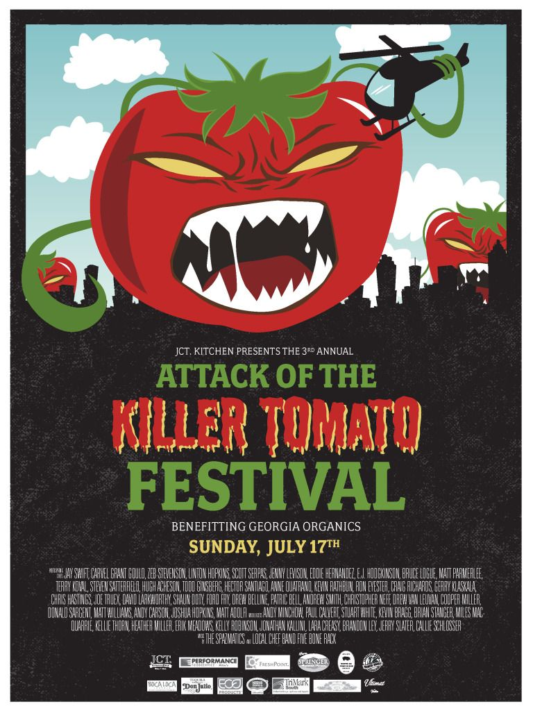 DishOnDieting: Attack of the Killer Tomatoes!