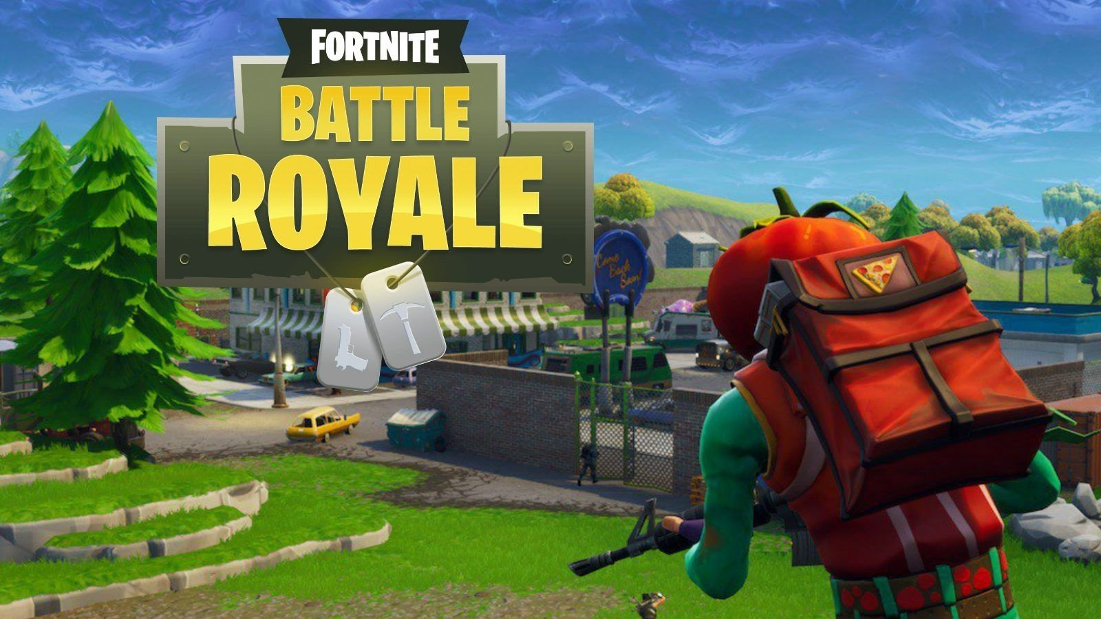 Tomato Head is Back on Fortnite Map