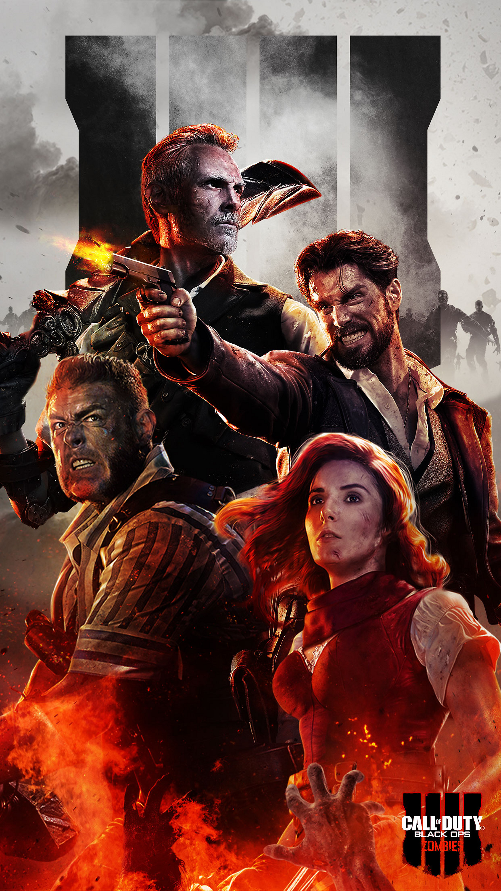 Call Of Duty Black Ops 4 Zombies Wallpapers Free Pictures On Greepx