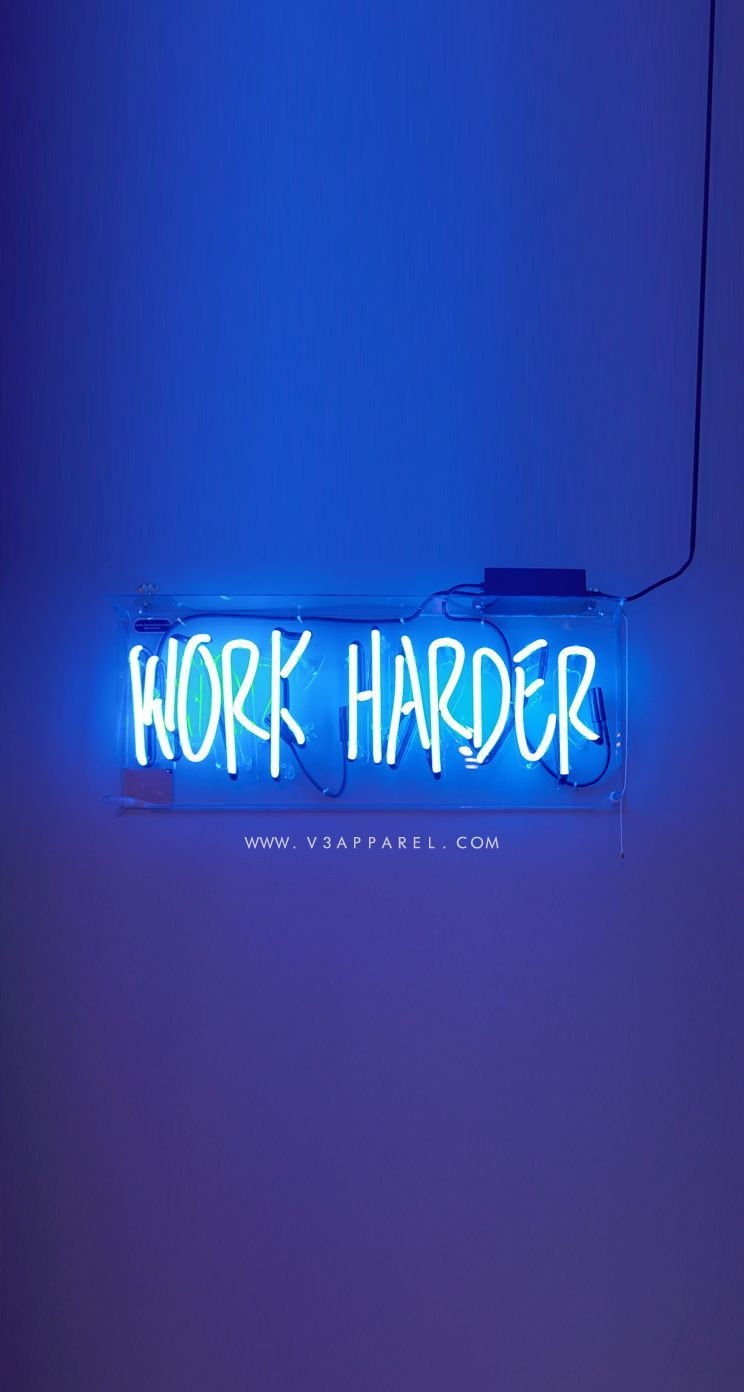 WORK HARDER! Download this phone wallpapers and many more for