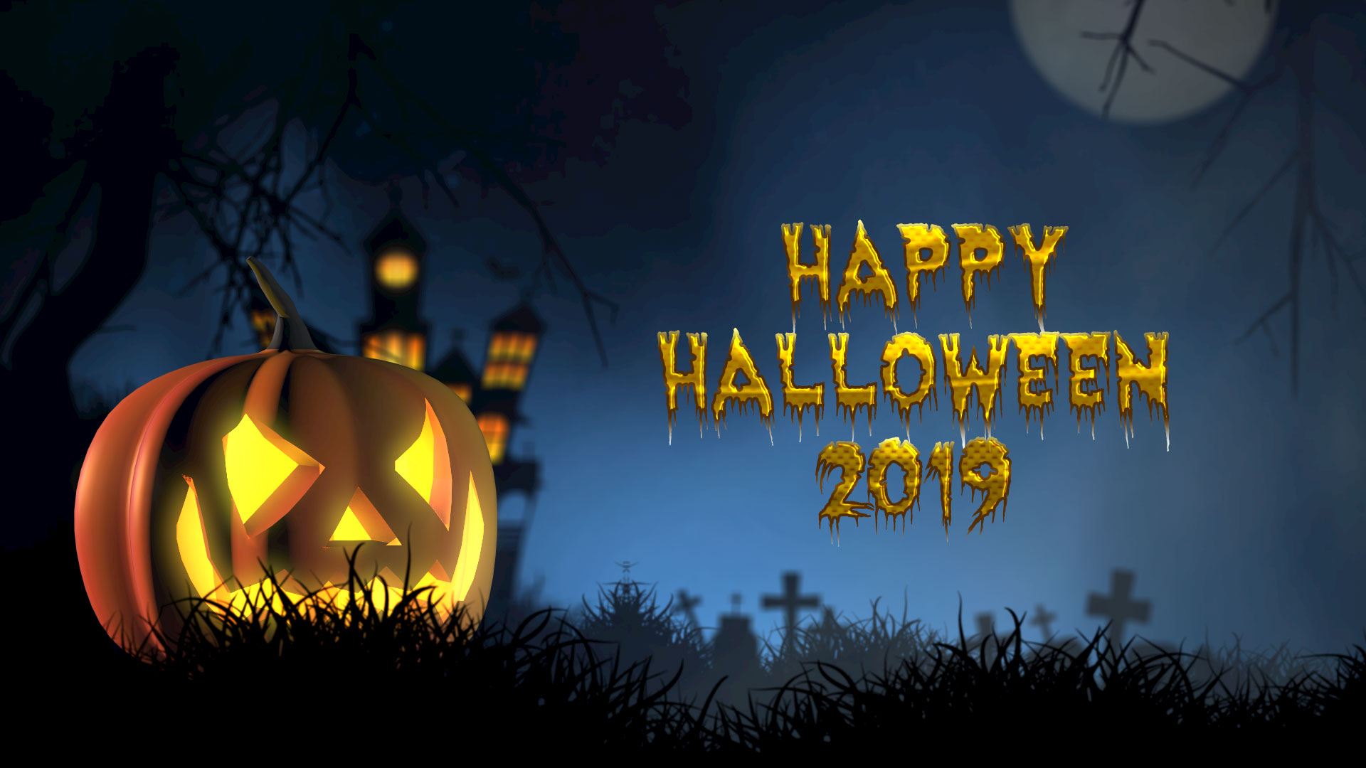 50+ Scary Halloween 2019 Wallpapers HD, Backgrounds