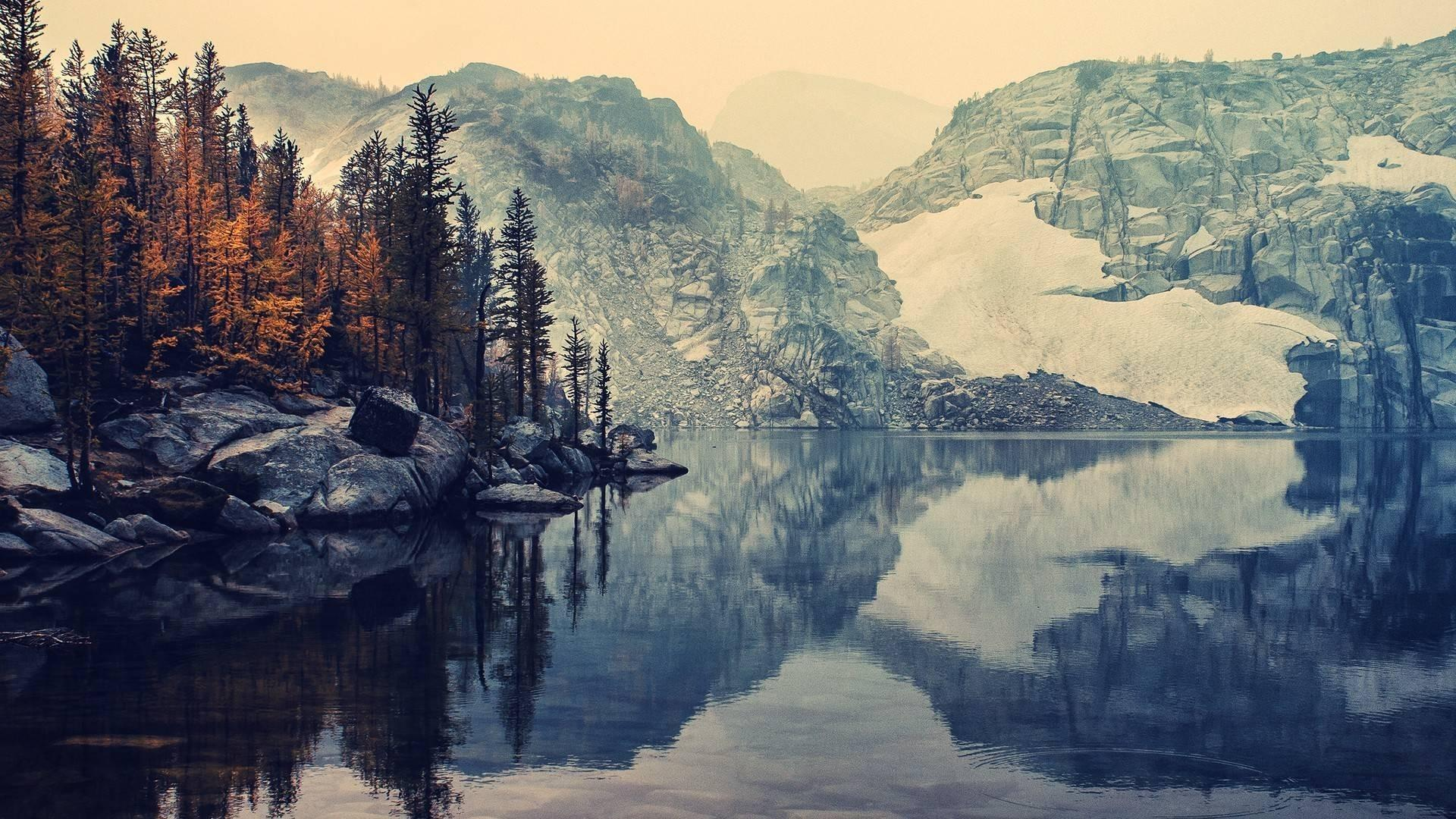 Mountains lakes reflections instagram autumn wallpapers