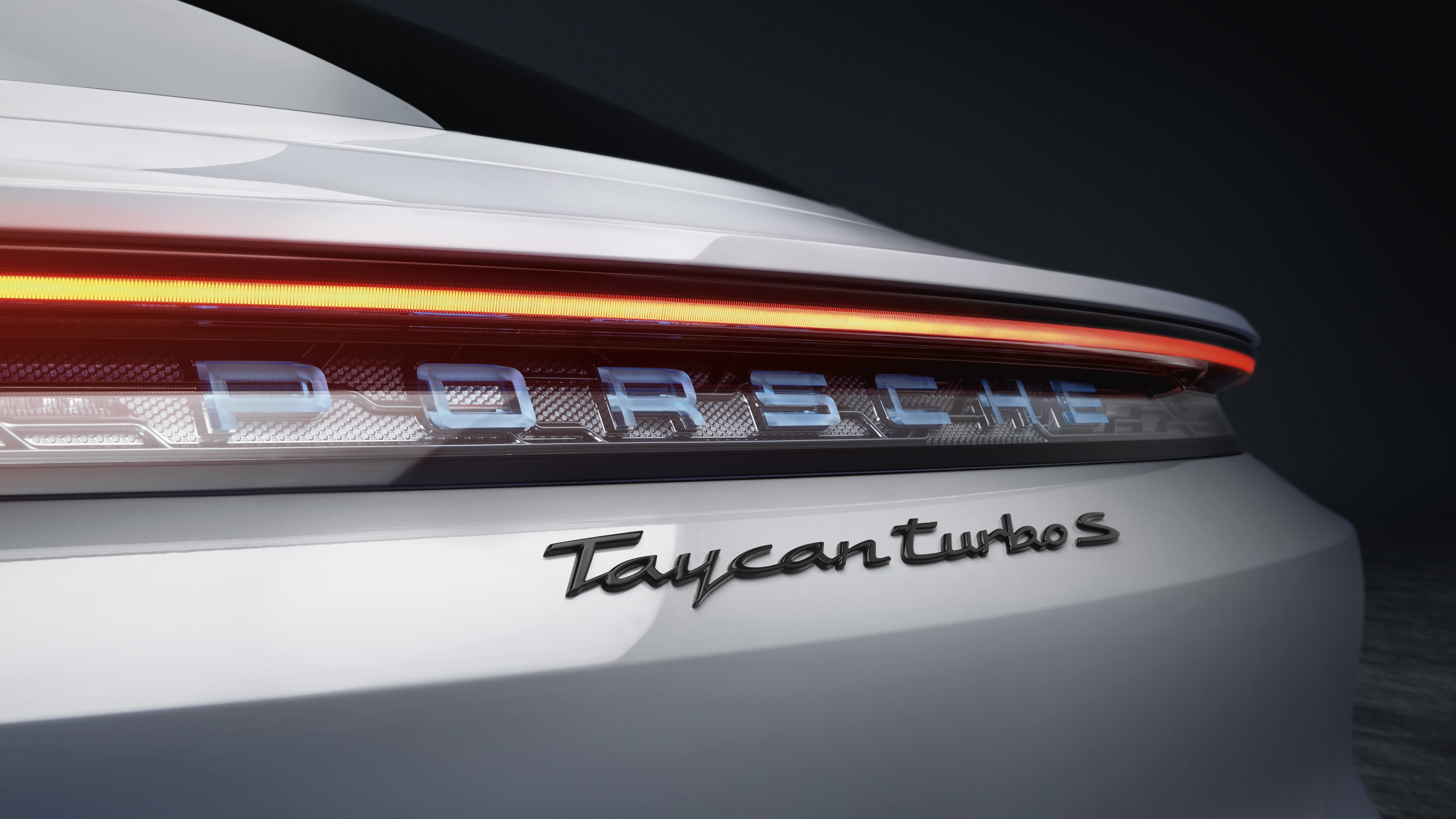 Porsche Taycan Turbo 2019 5K 4 Wallpapers