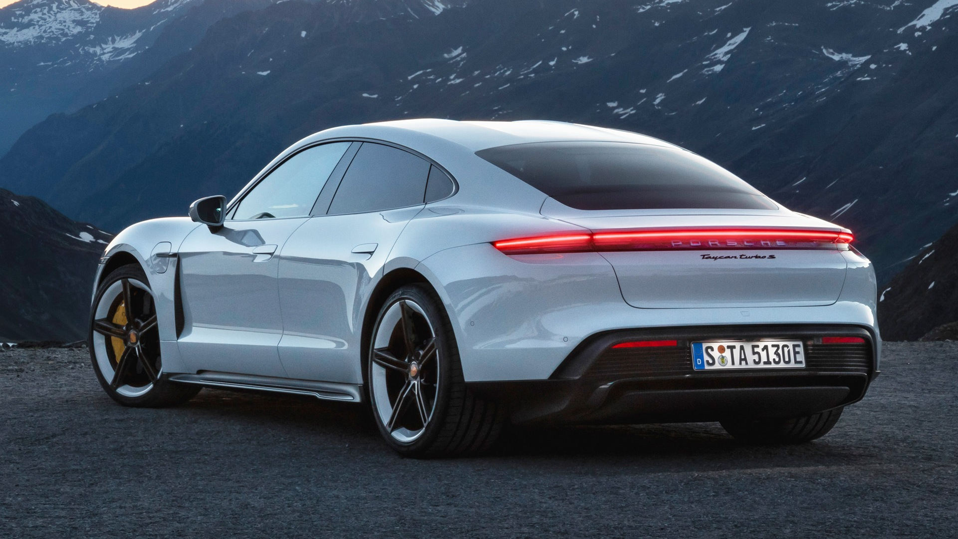 Porsche Taycan now in production, right on time