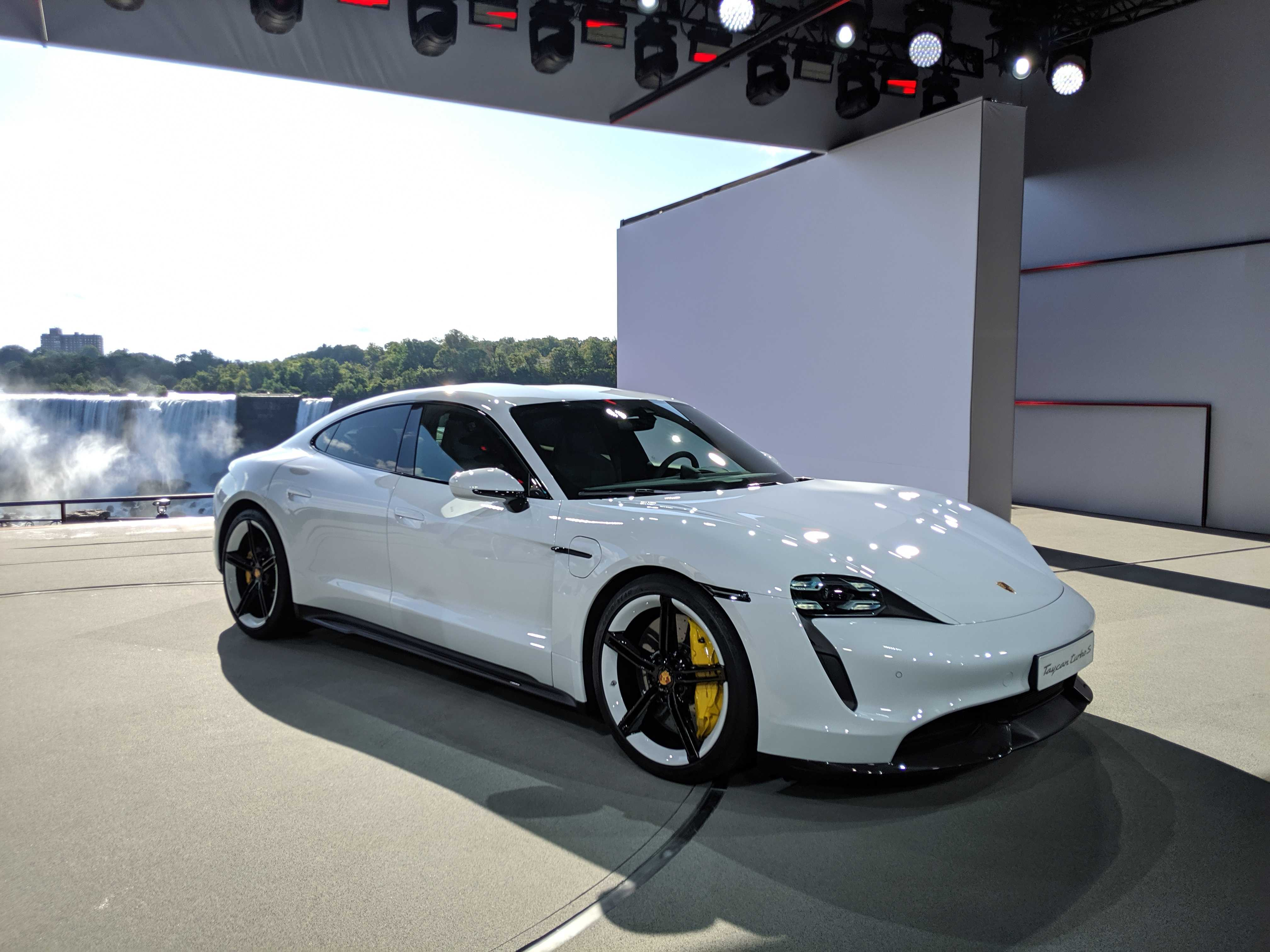 Porsche unveils the $150,900 Taycan Turbo electric sedan
