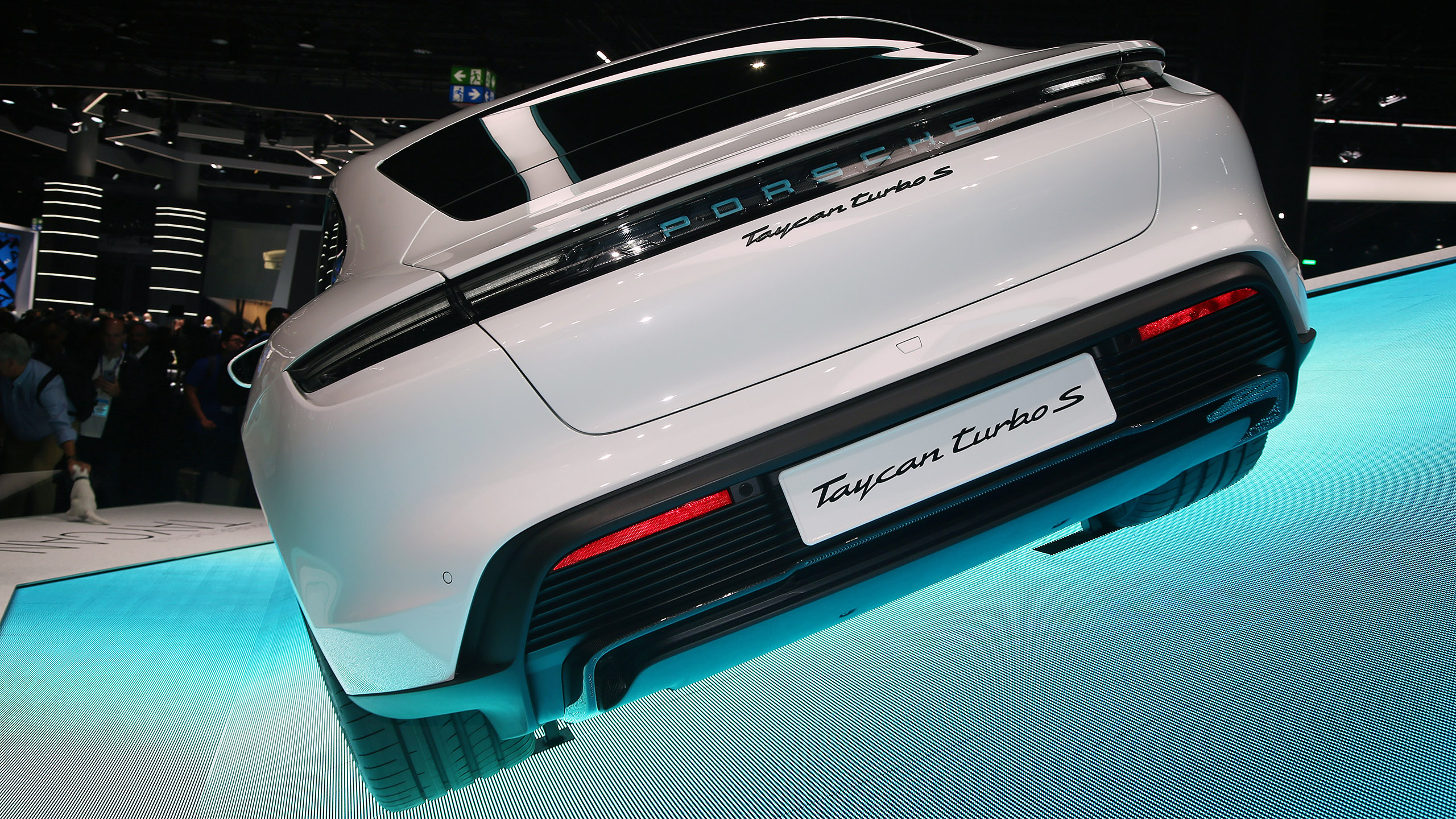 2020 Porsche Taycan: Frankfurt 2019 Photo Gallery