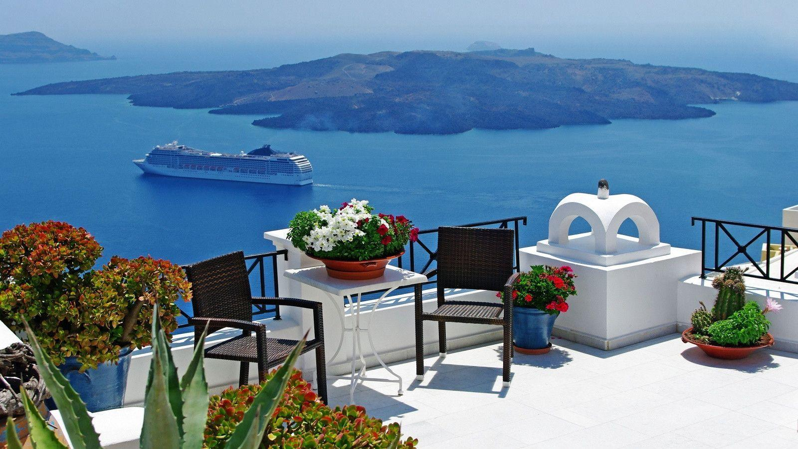 Santorini Wallpapers Anime HD Wallpapers Pictures