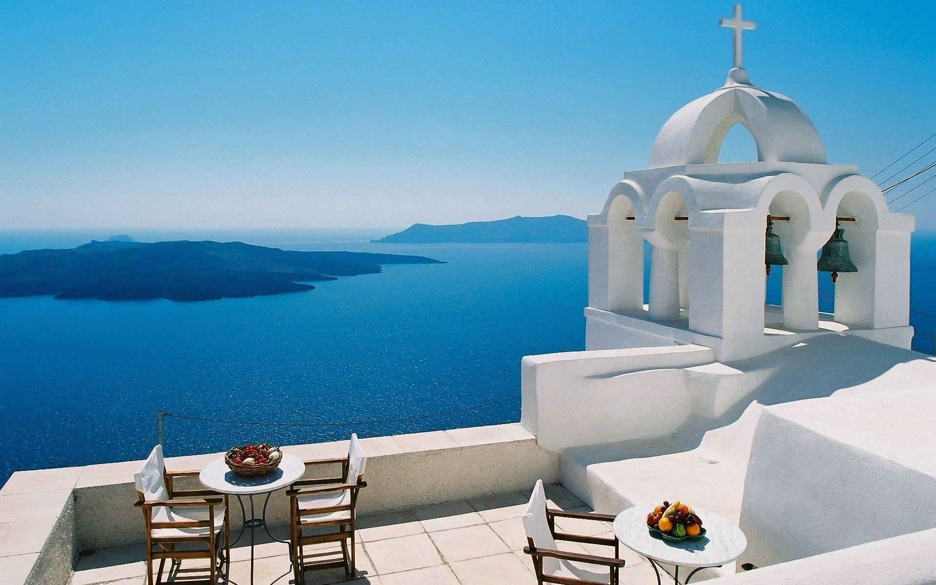 Santorini Wallpapers for Android