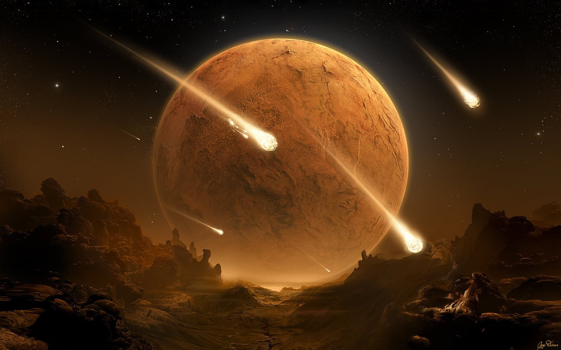 Meteorite Wallpapers HD Backgrounds, Image, Pics, Photos Free