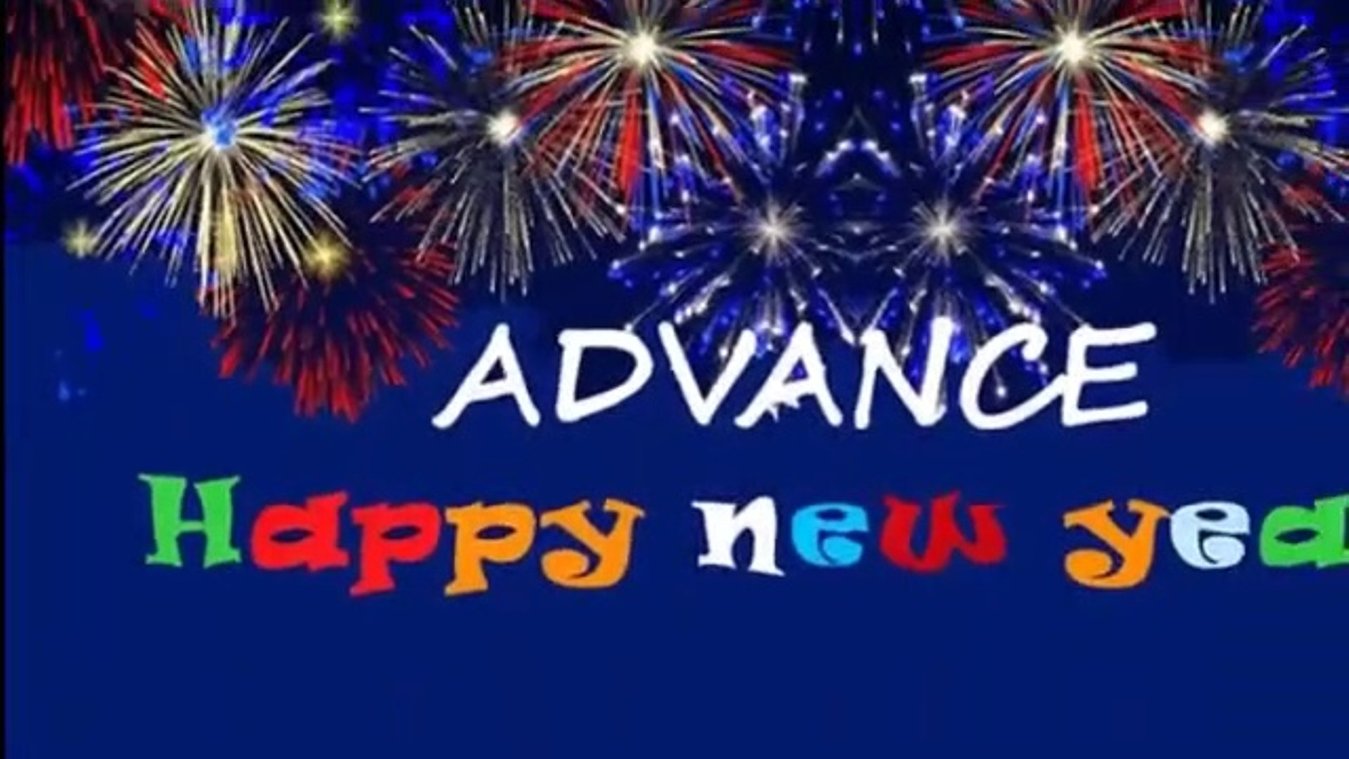 Advance Happy New Year 2020 Wallpapers