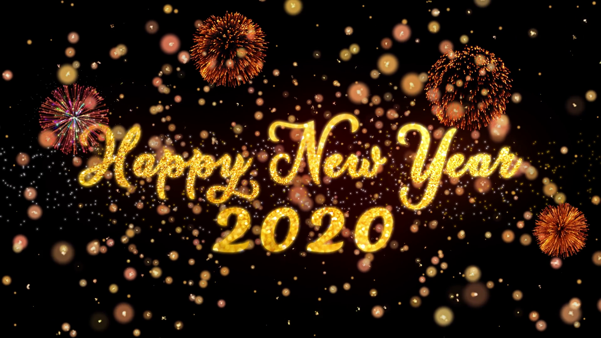 Photos of the new year 2020