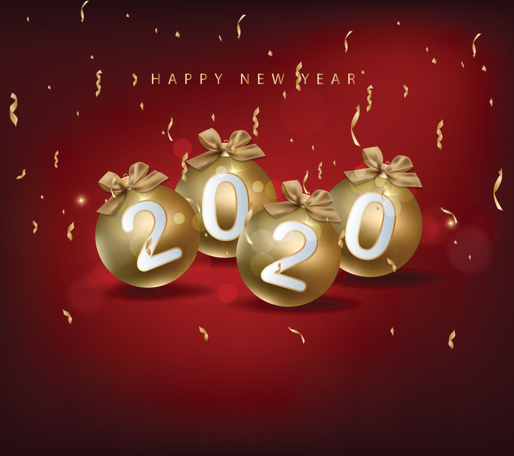 Happy New Year Backgrounds Image 2020 : NewYear2020