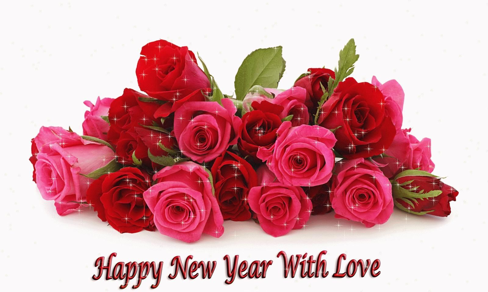 Download New year flowers