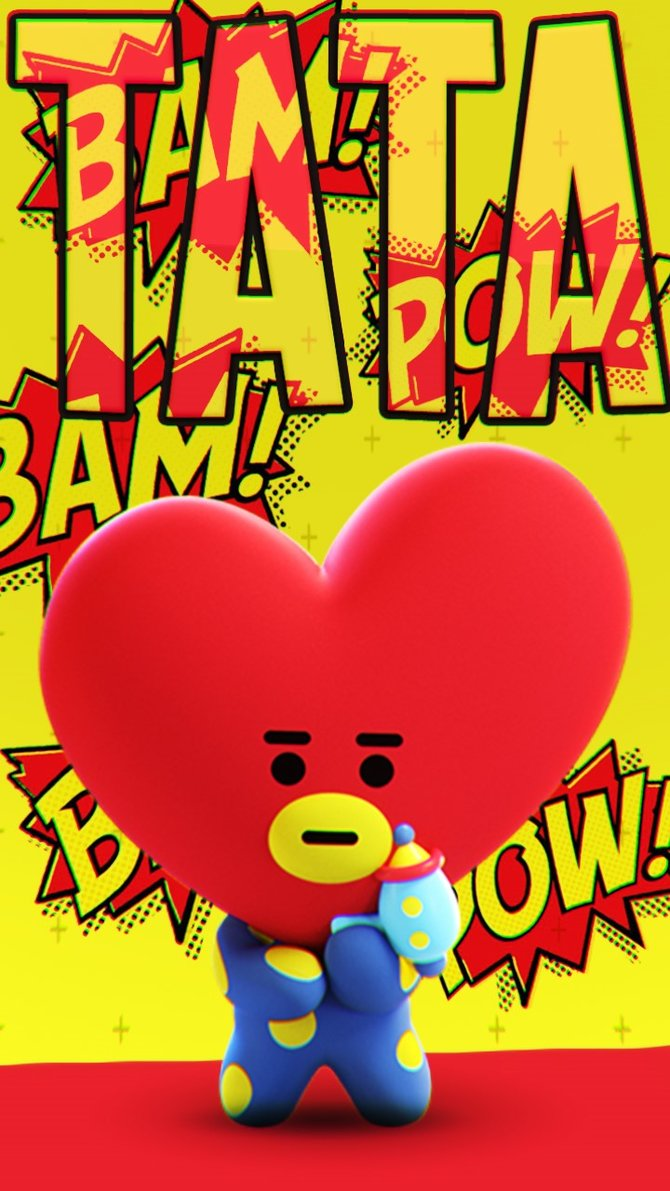 BT21 Wallpapers TATA by CarnivoreDeluxe