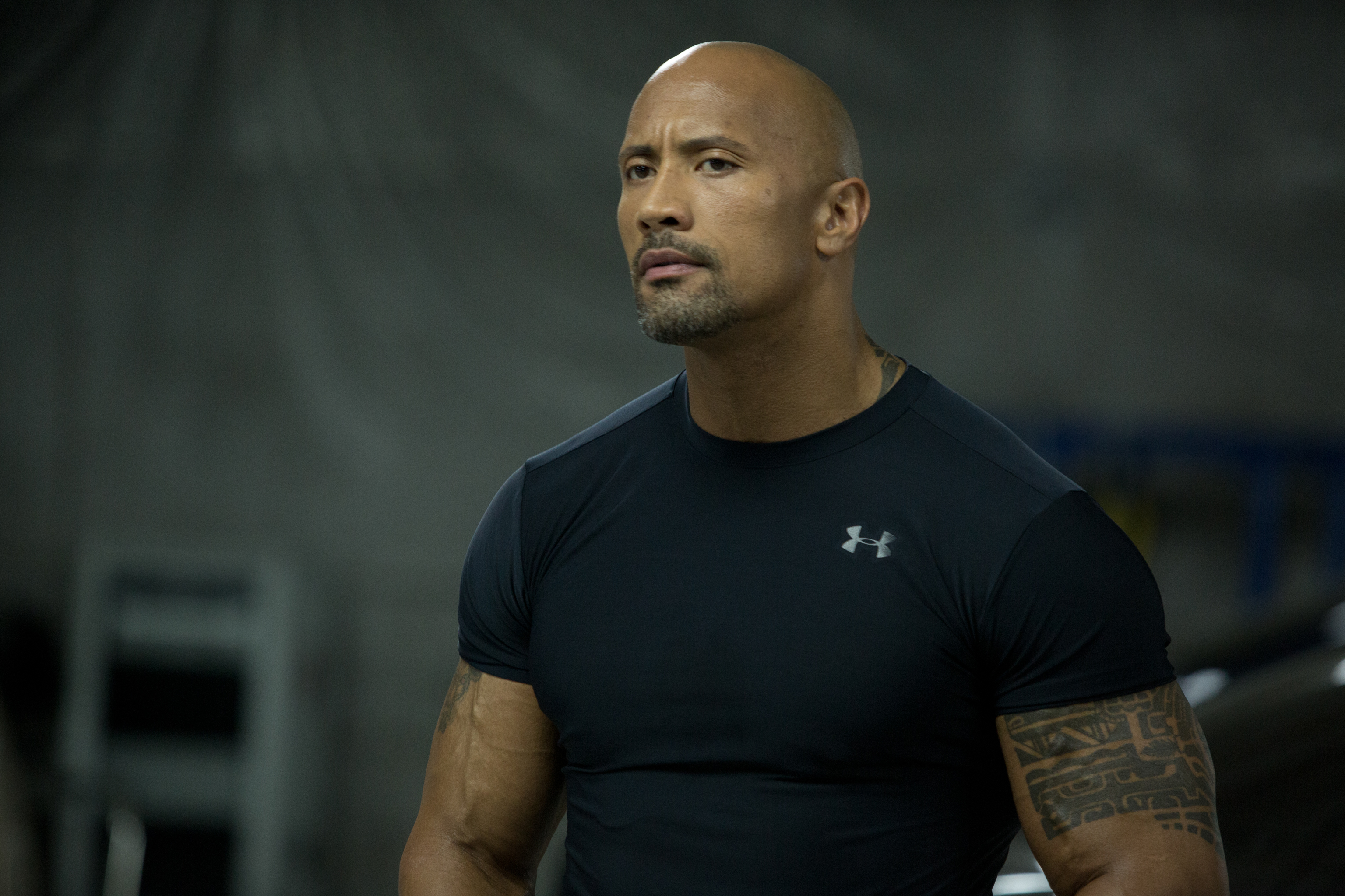 Dwayne Johnson 4k