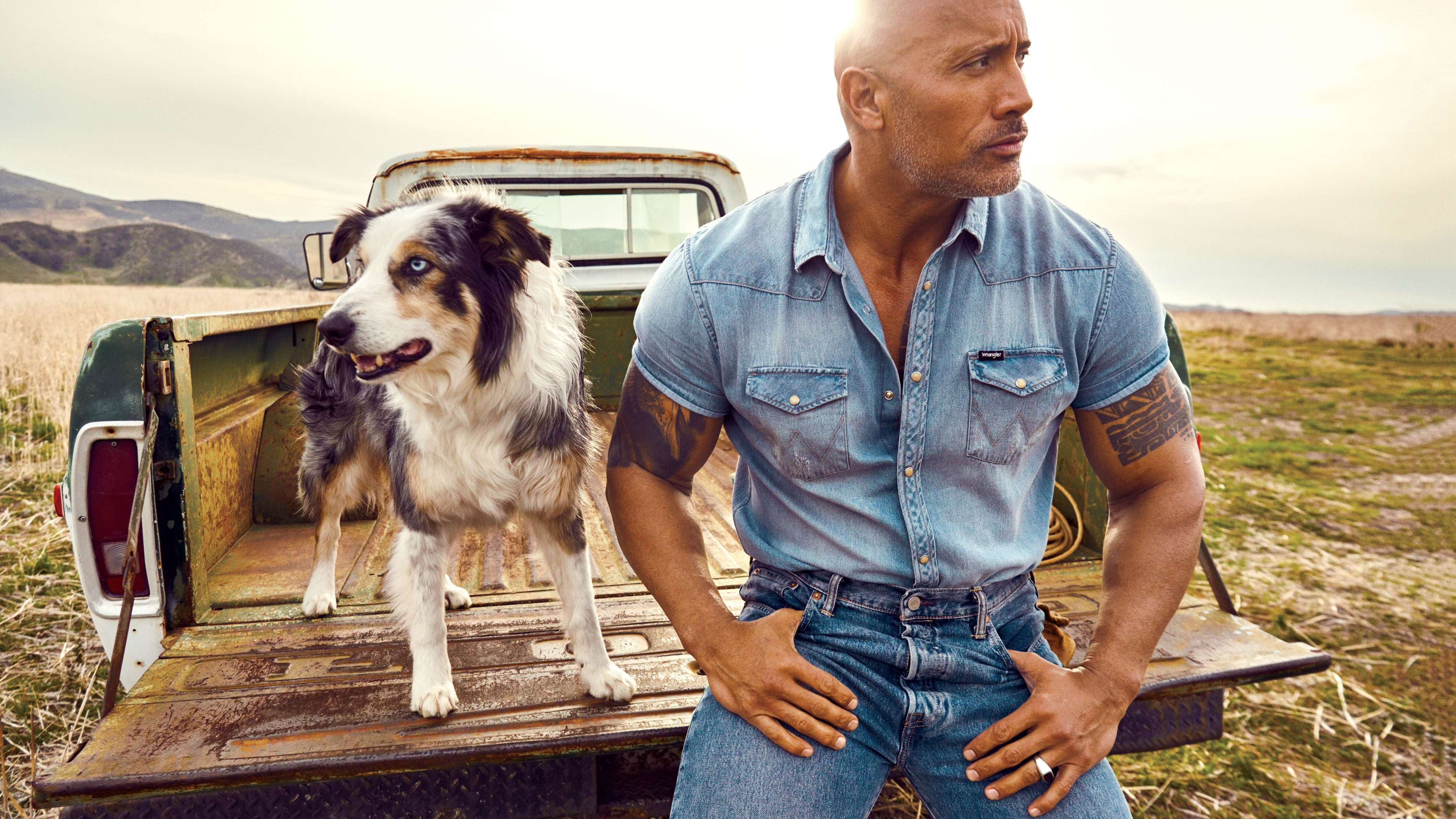 Wallpapers 4k Dwayne Johnson 5k 2019 4k