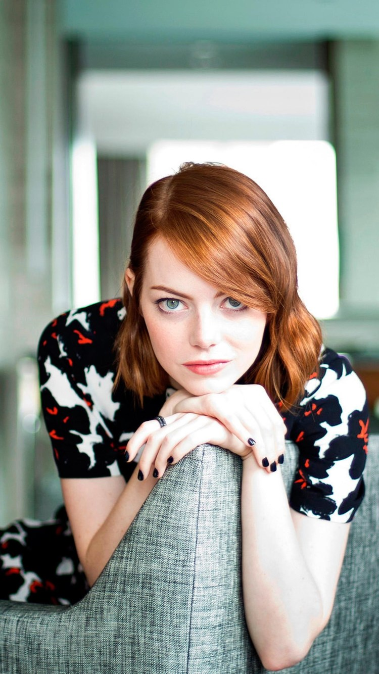 750x1334 Emma Stone iPhone 6, iPhone 6S, iPhone 7 HD 4k Wallpapers