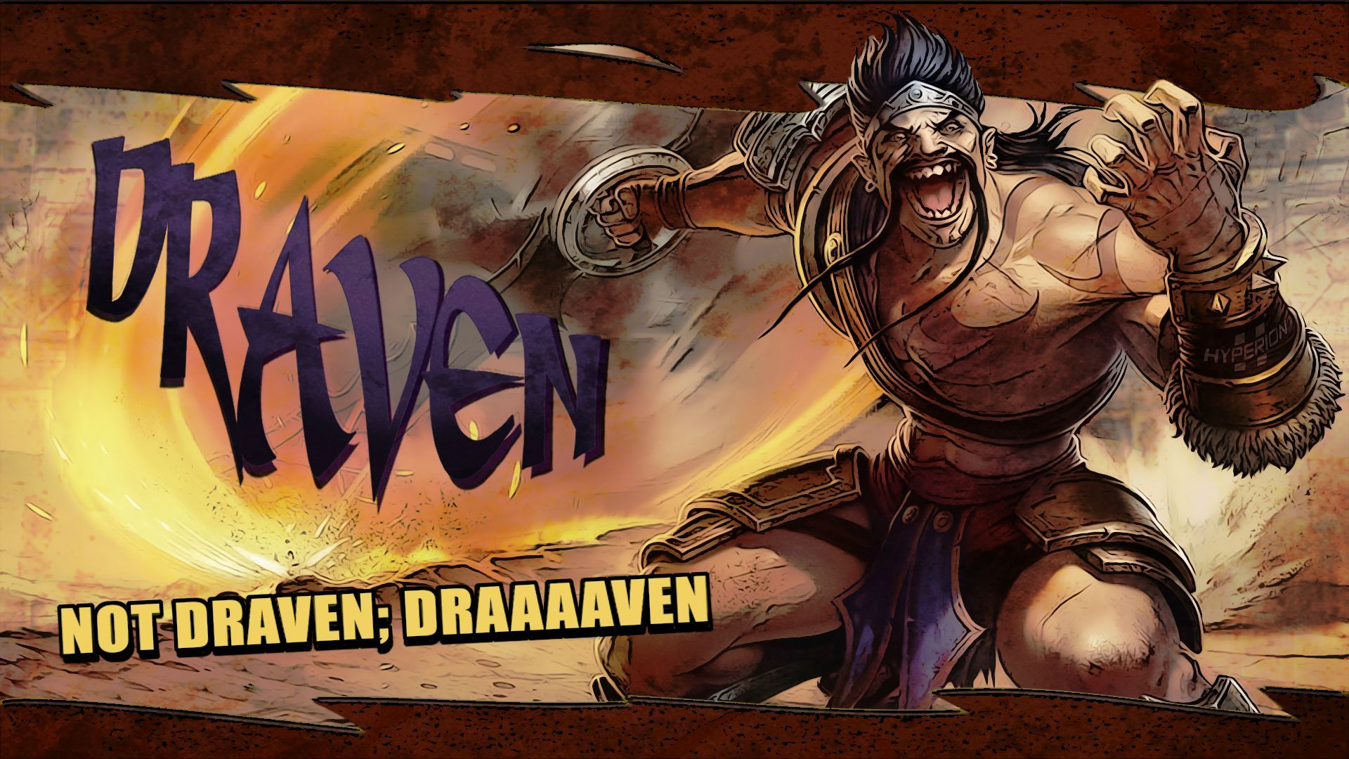 Draven Borderlands Wallpapers : leagueoflegends