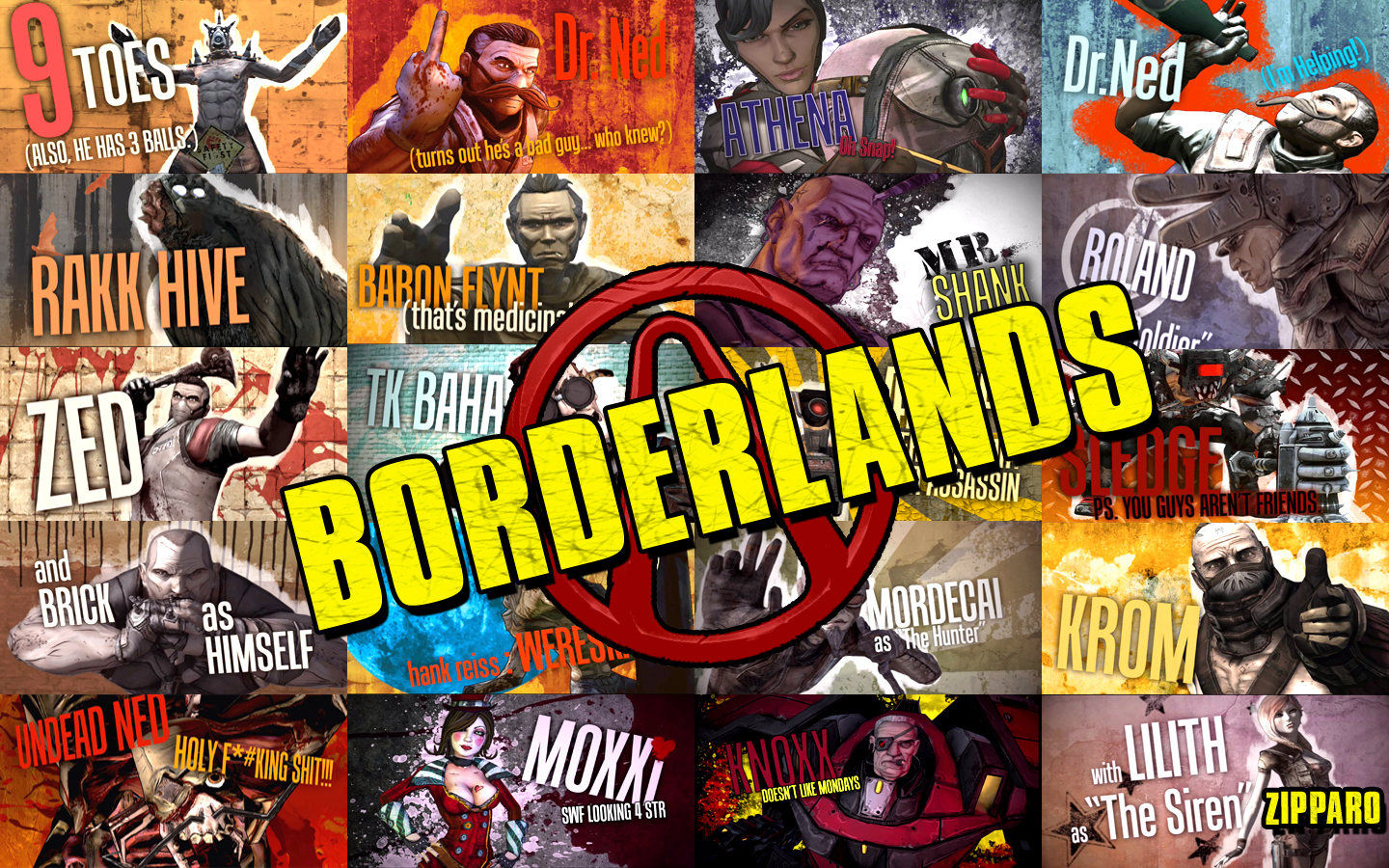 Free Borderlands wallpapers