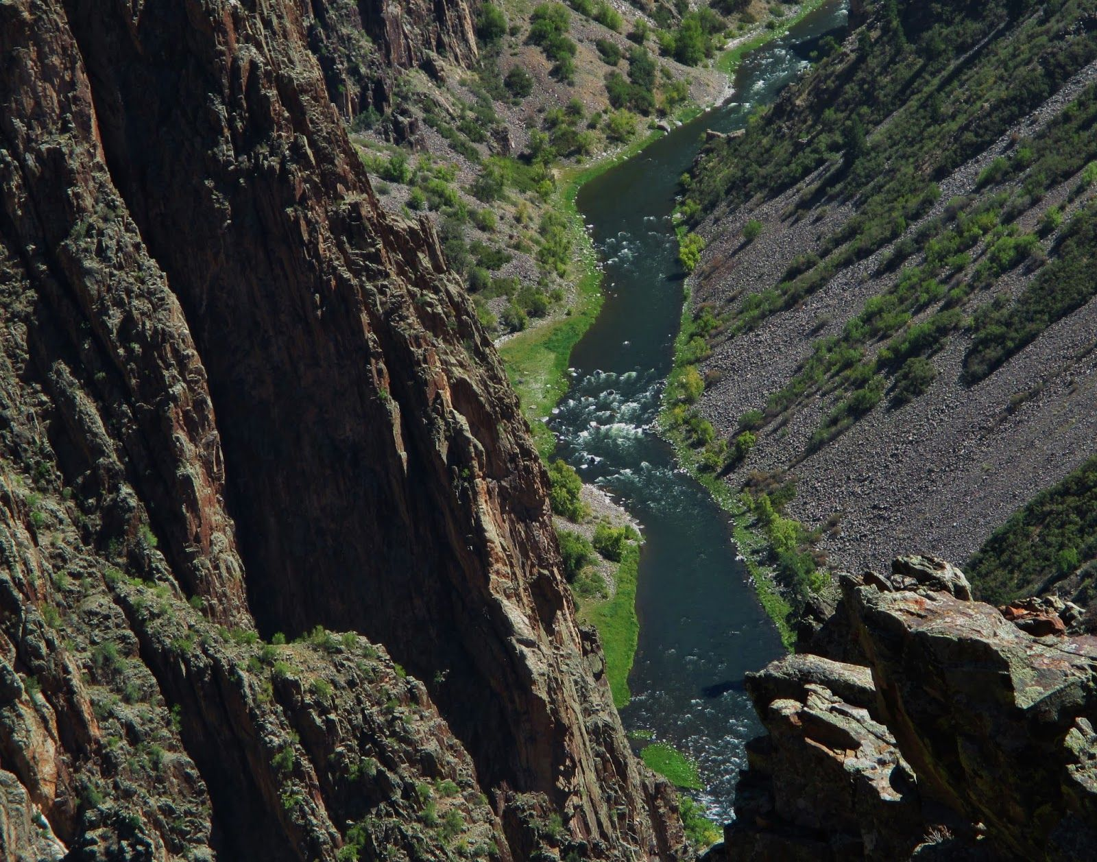 The Travels of Kimbo Polo: Black Canyon of the Gunnison National Park