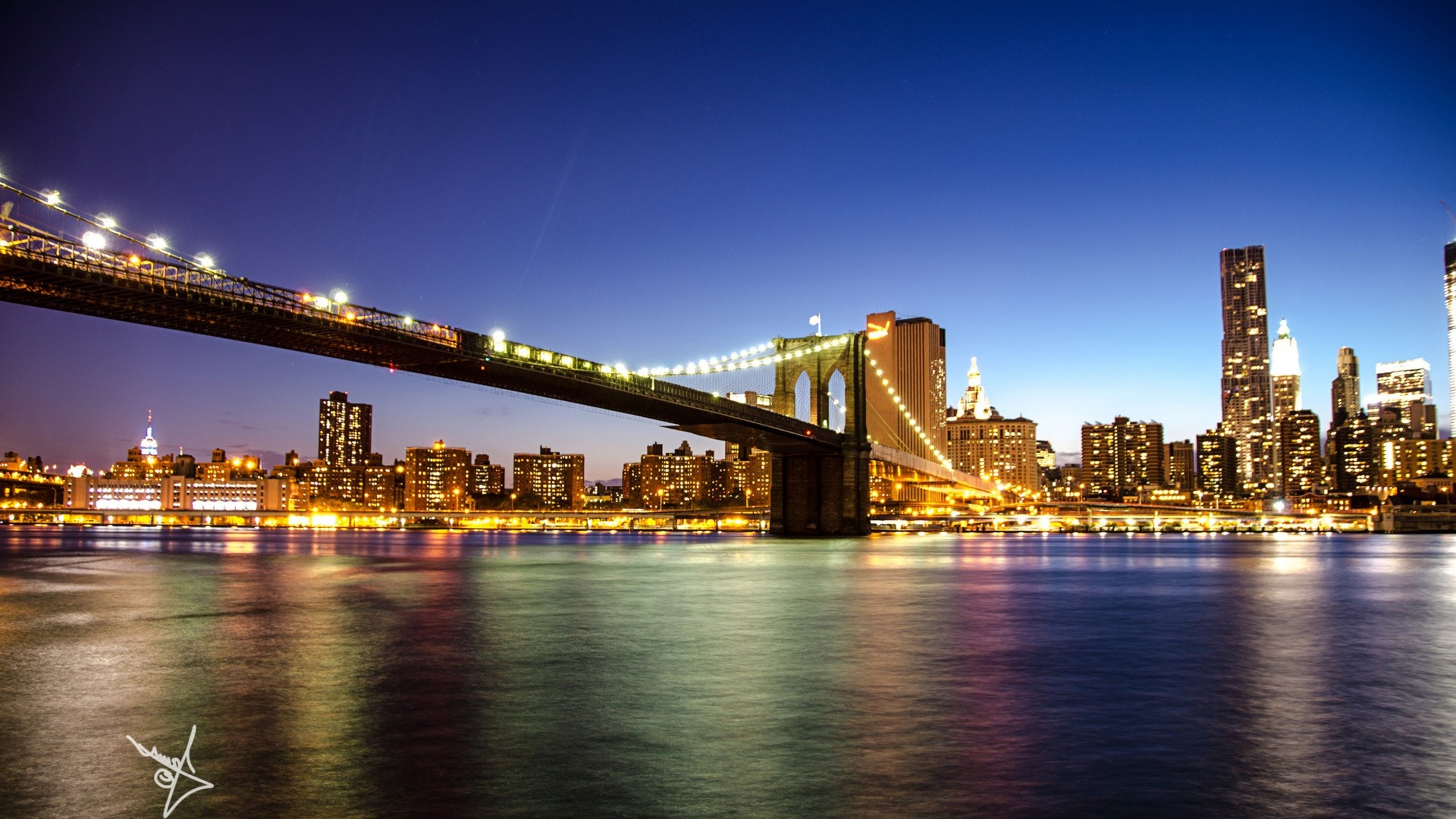 Brooklyn Bridge New York Wallpapers Free Pictures On Greepx