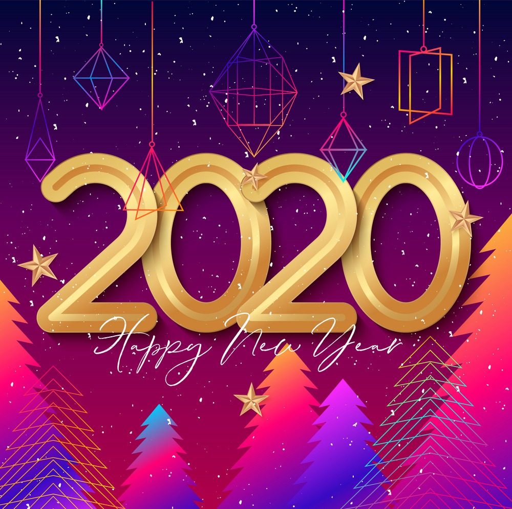 Happy New Year 2020 Image HD, Wallpapers Free Download