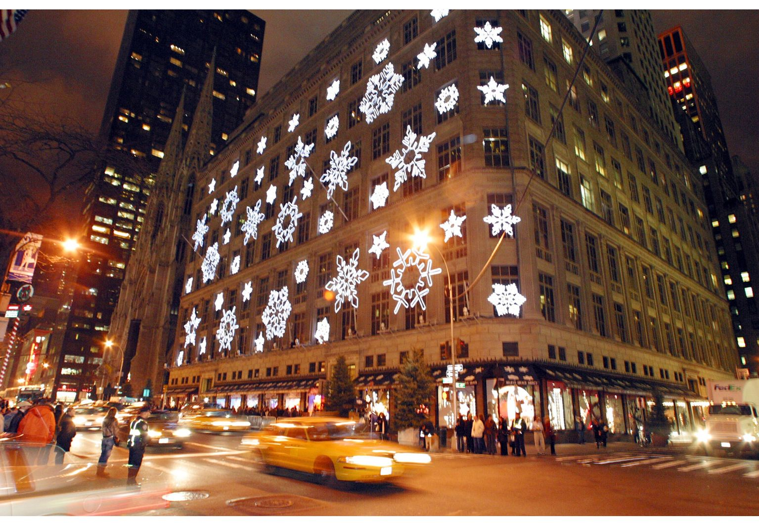 Saks Fifth Avenue! This heritage department store put 5th