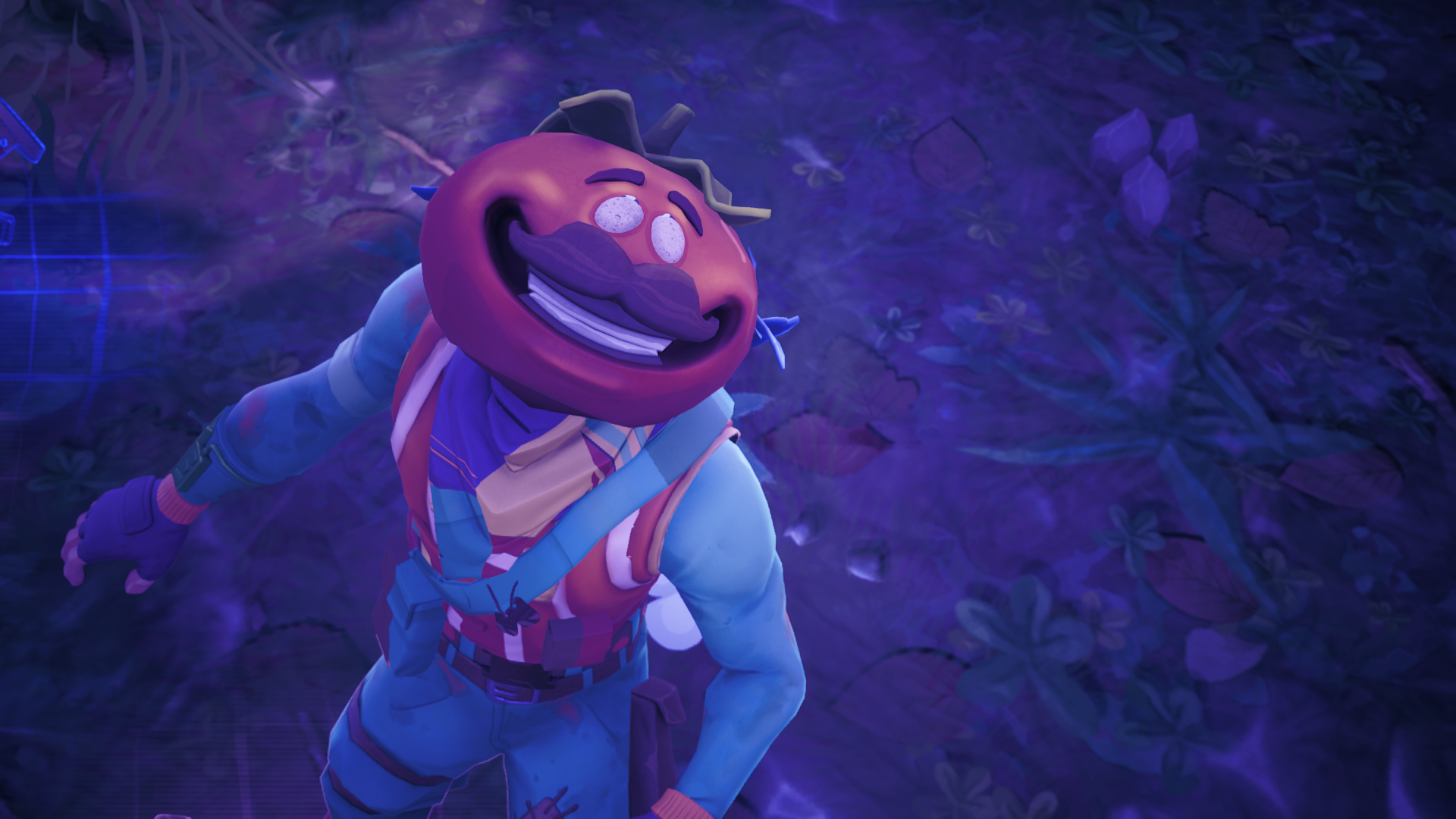 CREEPY] If you go into the replay mode the time tomato head dies his