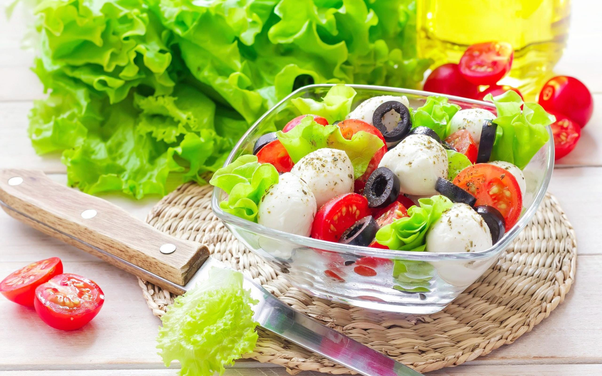 Healthy Salad Ready HD Wallpapers