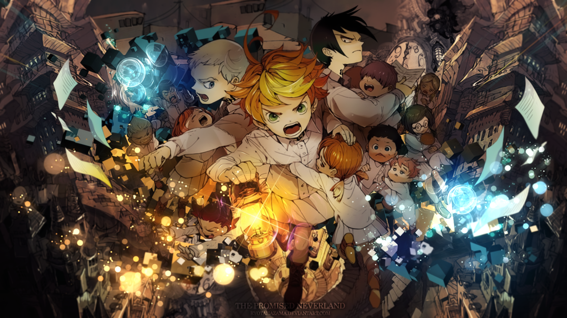 30 The Promised Neverland HD Wallpapers