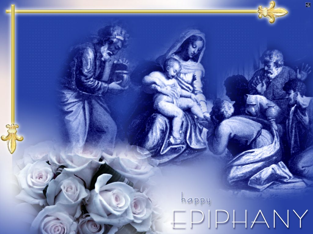 Happy Epiphany Backgrounds For PowerPoint