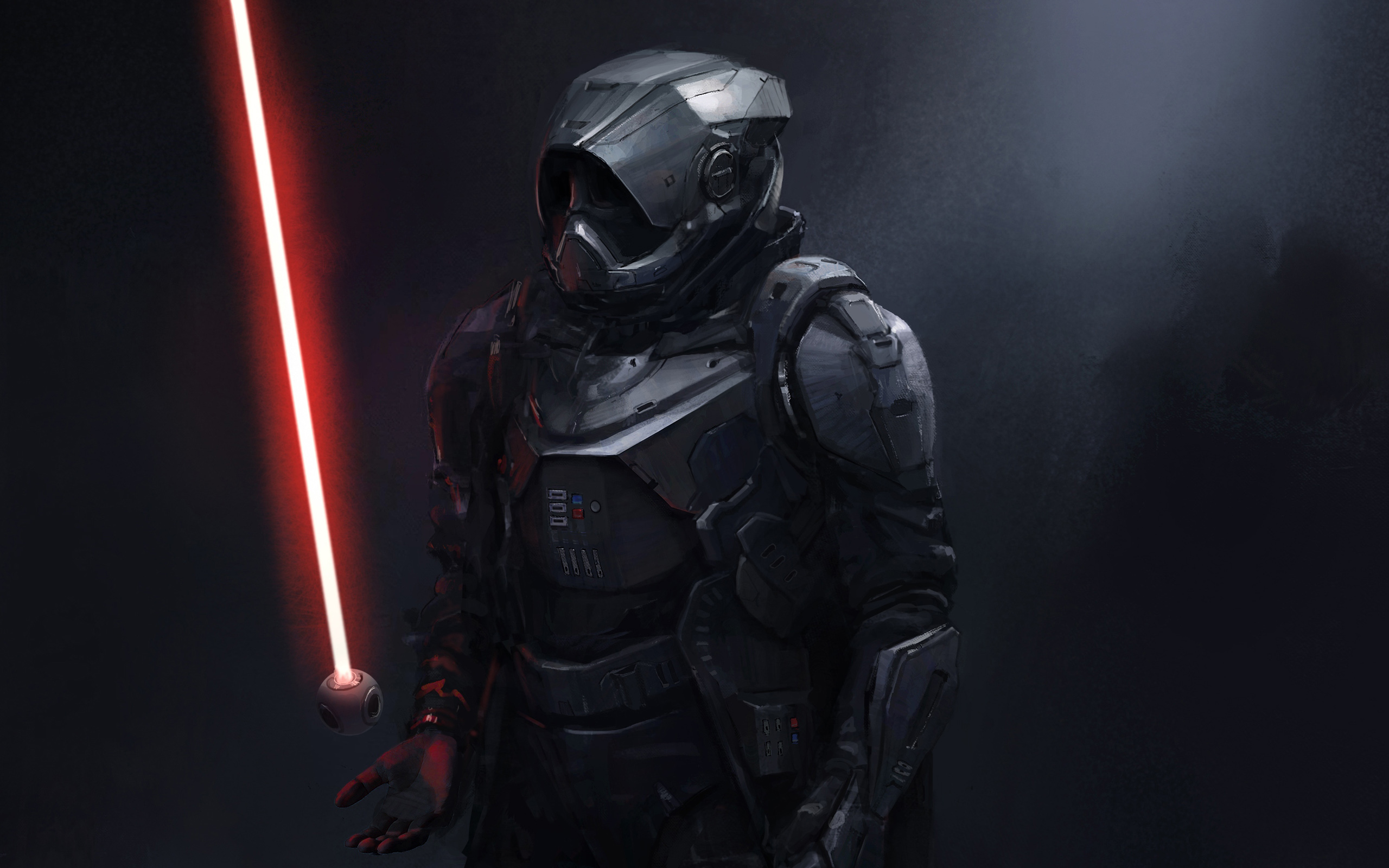 Download 2560x1600 Darth Vader Concept Art Wallpapers