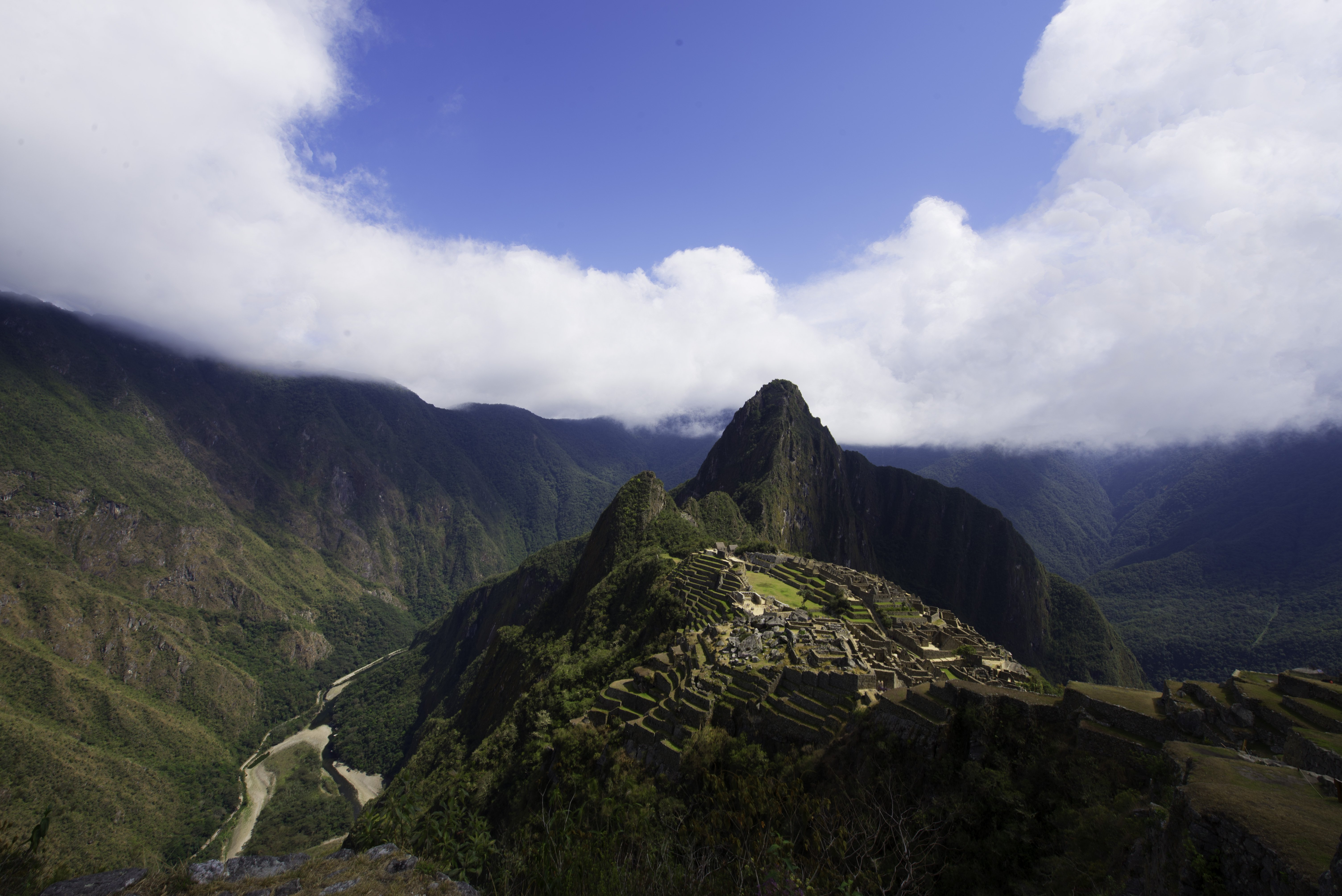 The End of the Inca Trail
