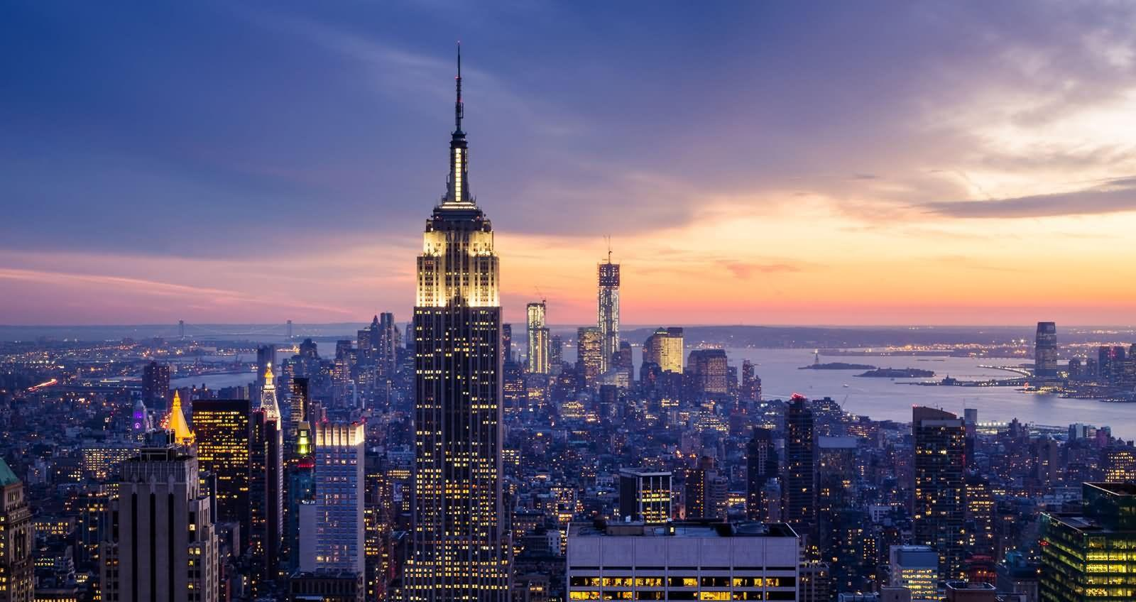 40 Most Adorable Empire State Building, Manhattan Night View