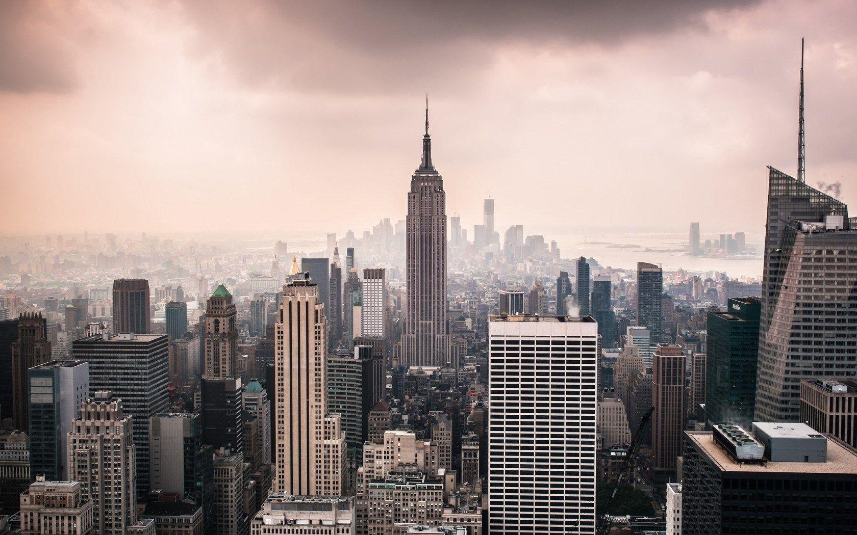 USA New York City Empire State Building wallpapers