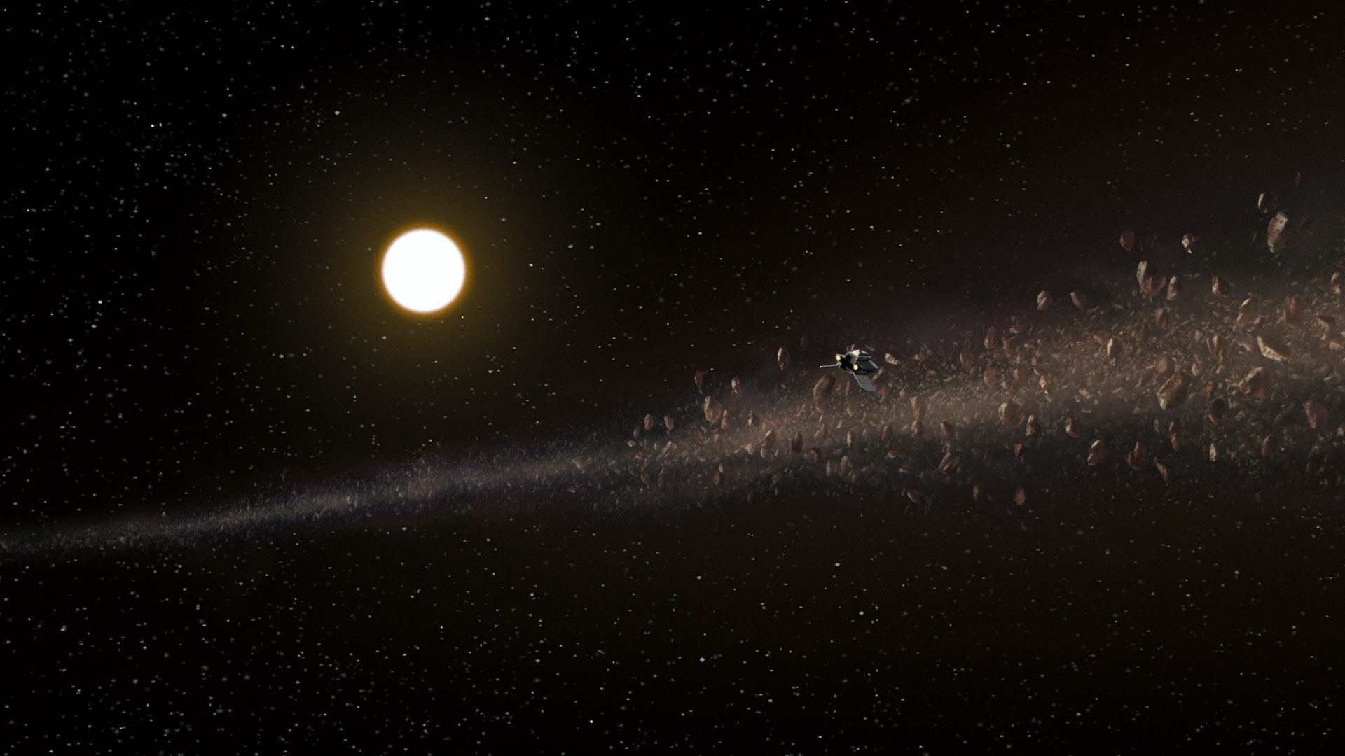 Anaxes asteroid belt