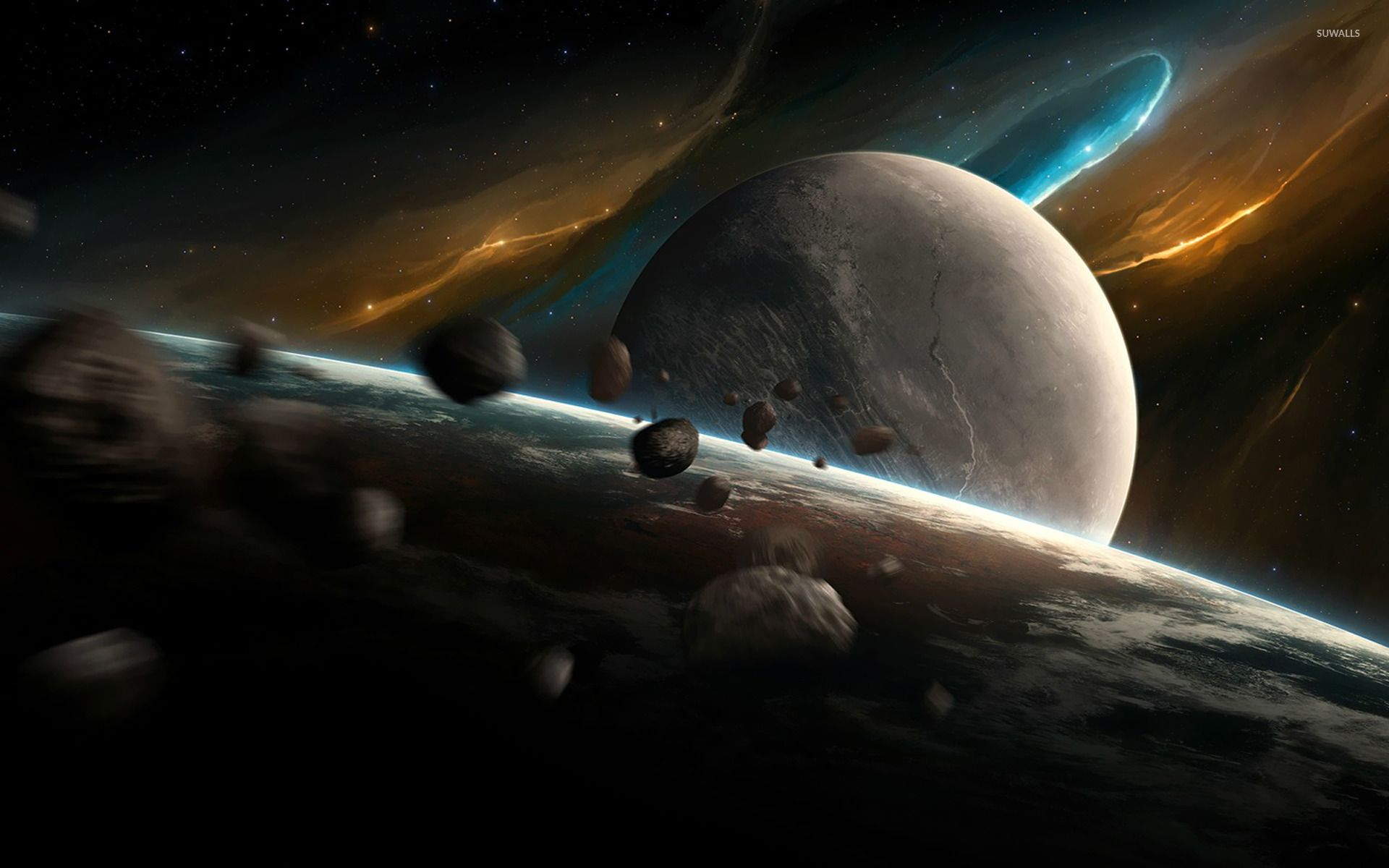 Planets and asteroids [2] wallpapers