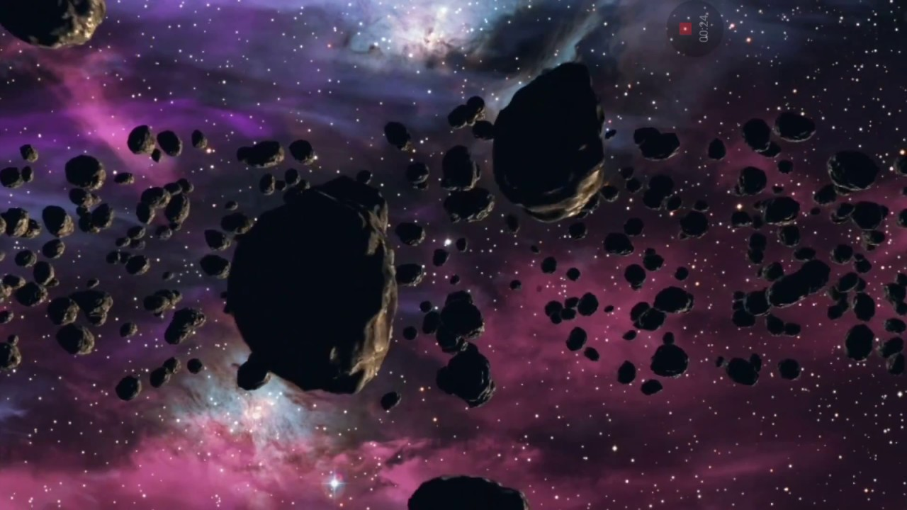 Asteroids 3D Live Wallpapers